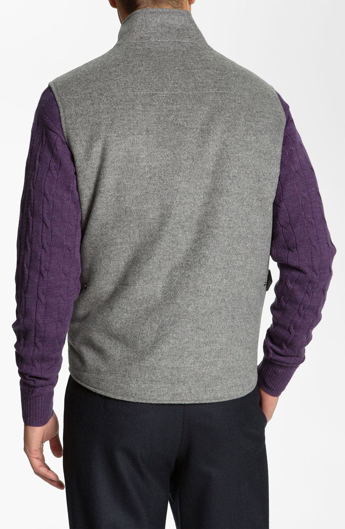 Alternate Image 2  - Peter Millar Wool & Cashmere Vest