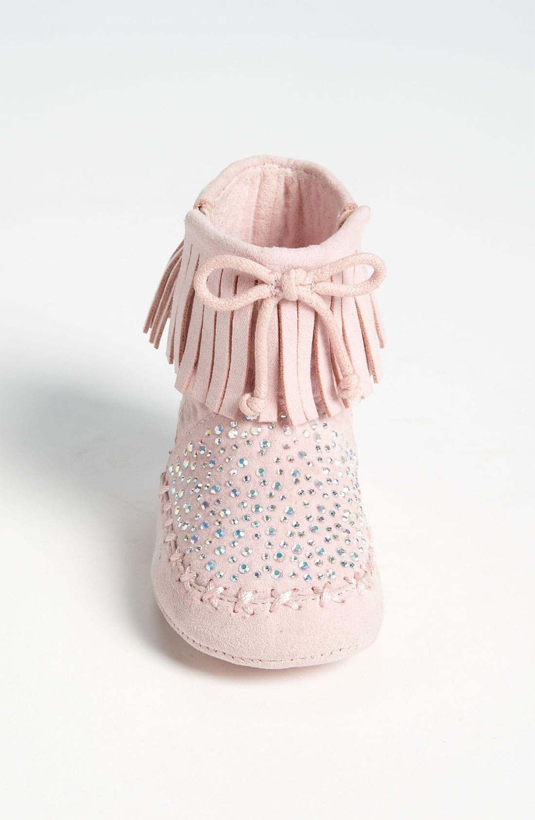 Alternate Image 3  - Stuart Weitzman 'Baby Moctail' Crib Shoe (Baby)
