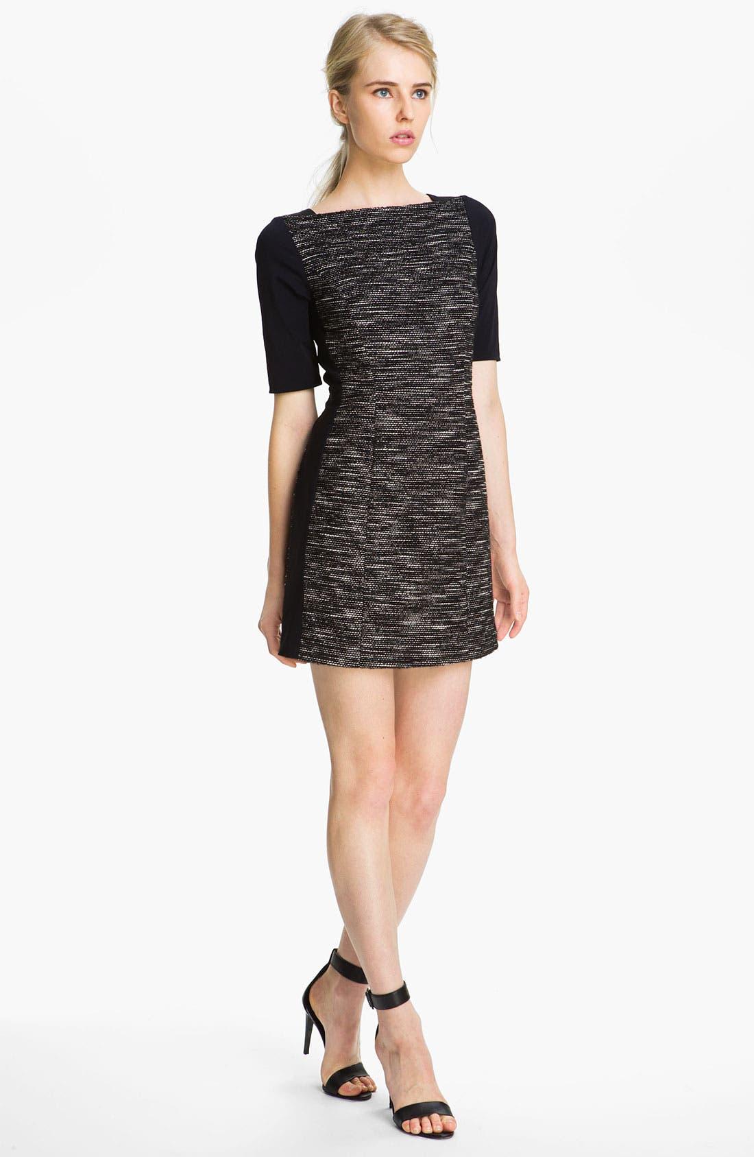 Main Image - Tibi Tweed Dress