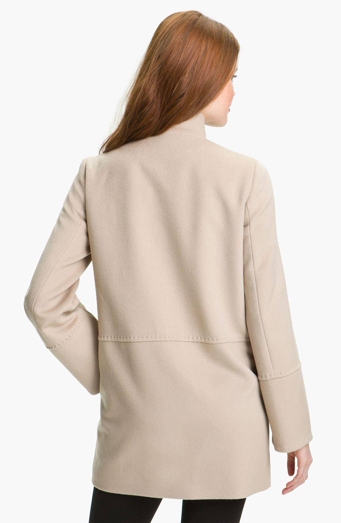 Alternate Image 2  - Cinzia Rocca Wool Duffle Coat