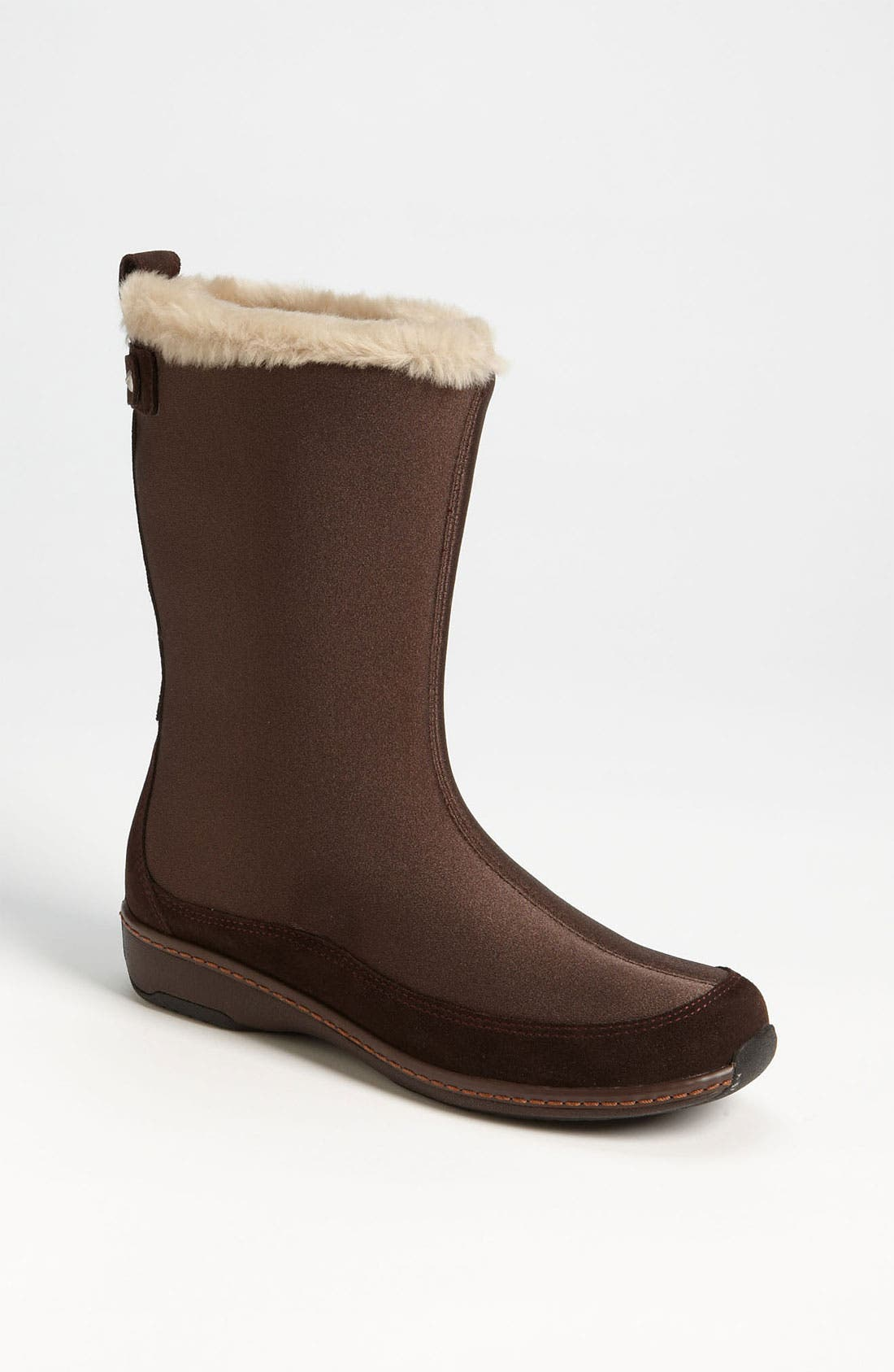 Alternate Image 1 Selected - Aetrex 'Furry' Mid Calf Boot