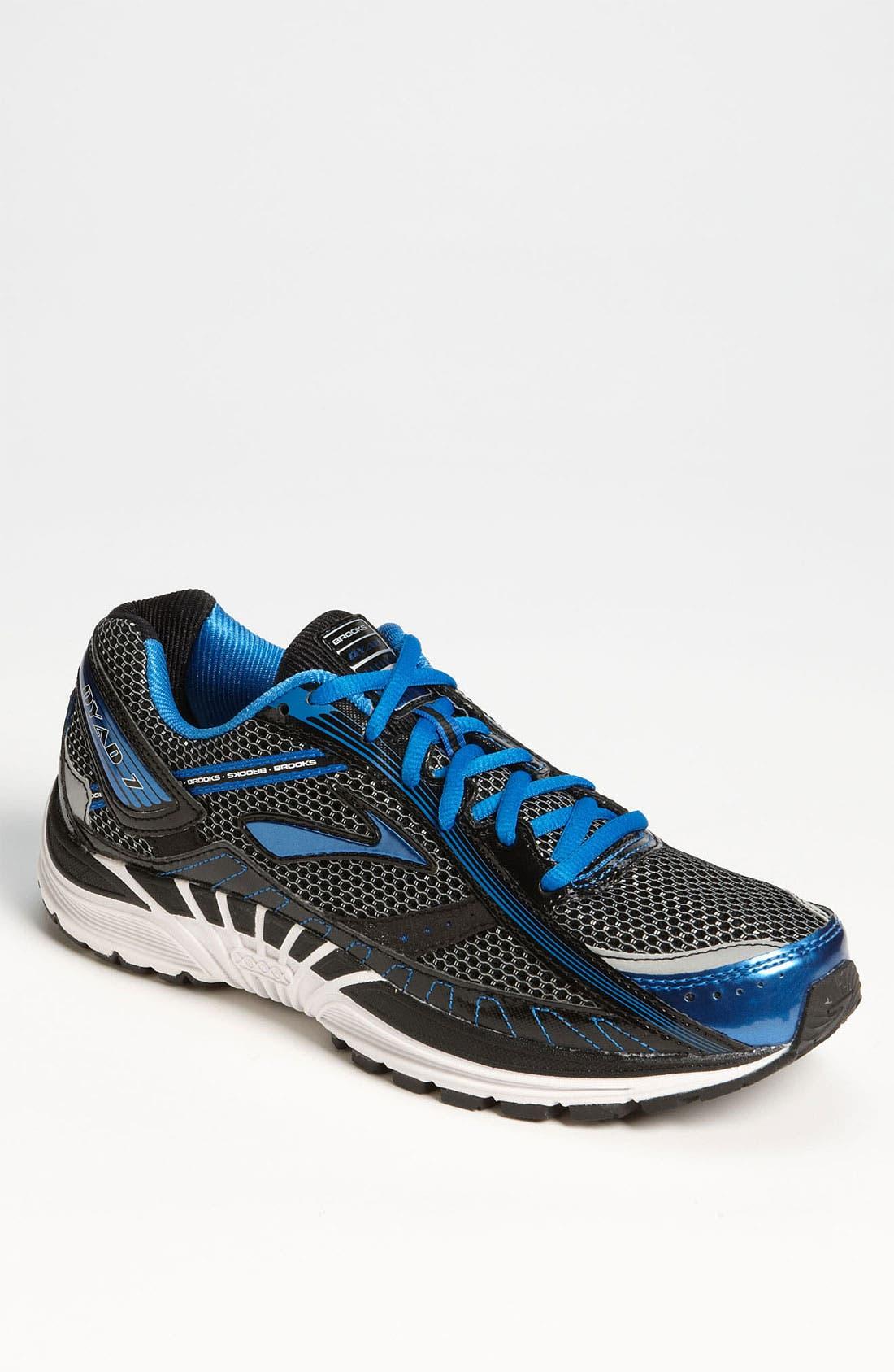 Alternate Image 1 Selected - Brooks 'DYAD 7' Running Shoe (Men)