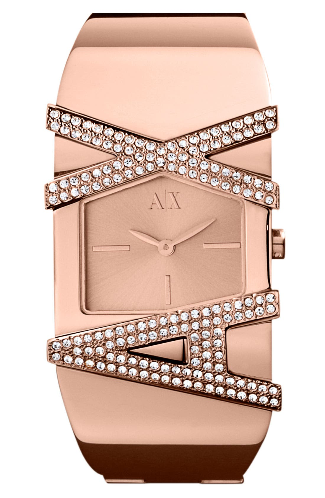 Main Image - AX Armani Exchange Bangle Watch, 35mm (Online Only)