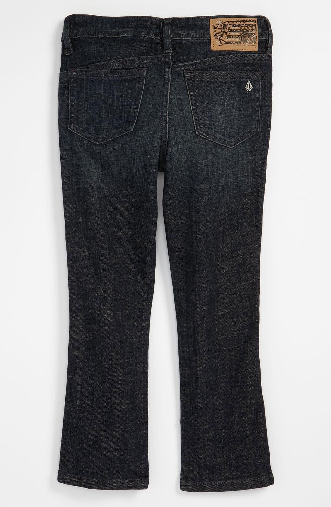 Alternate Image 1 Selected - Volcom '2 x 4' Skinny Jeans (Little Boys)