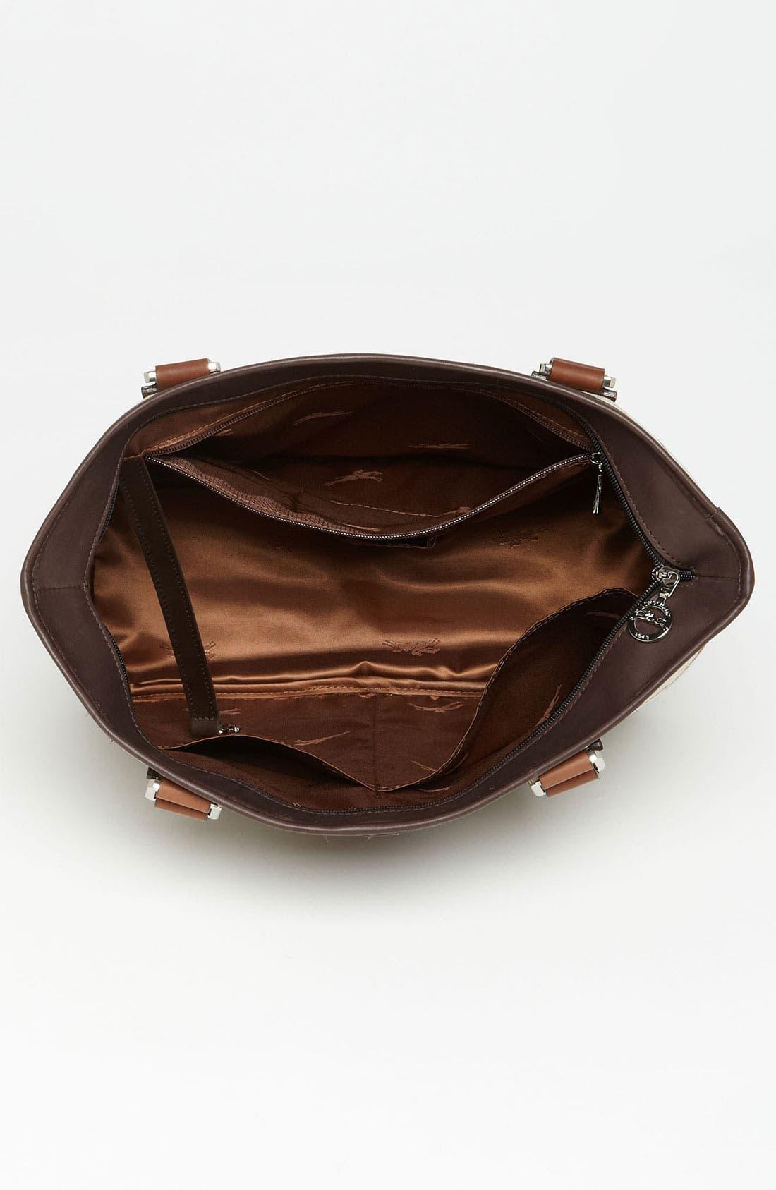Alternate Image 3  - Longchamp 'LM Jacquard' Shoulder Bag