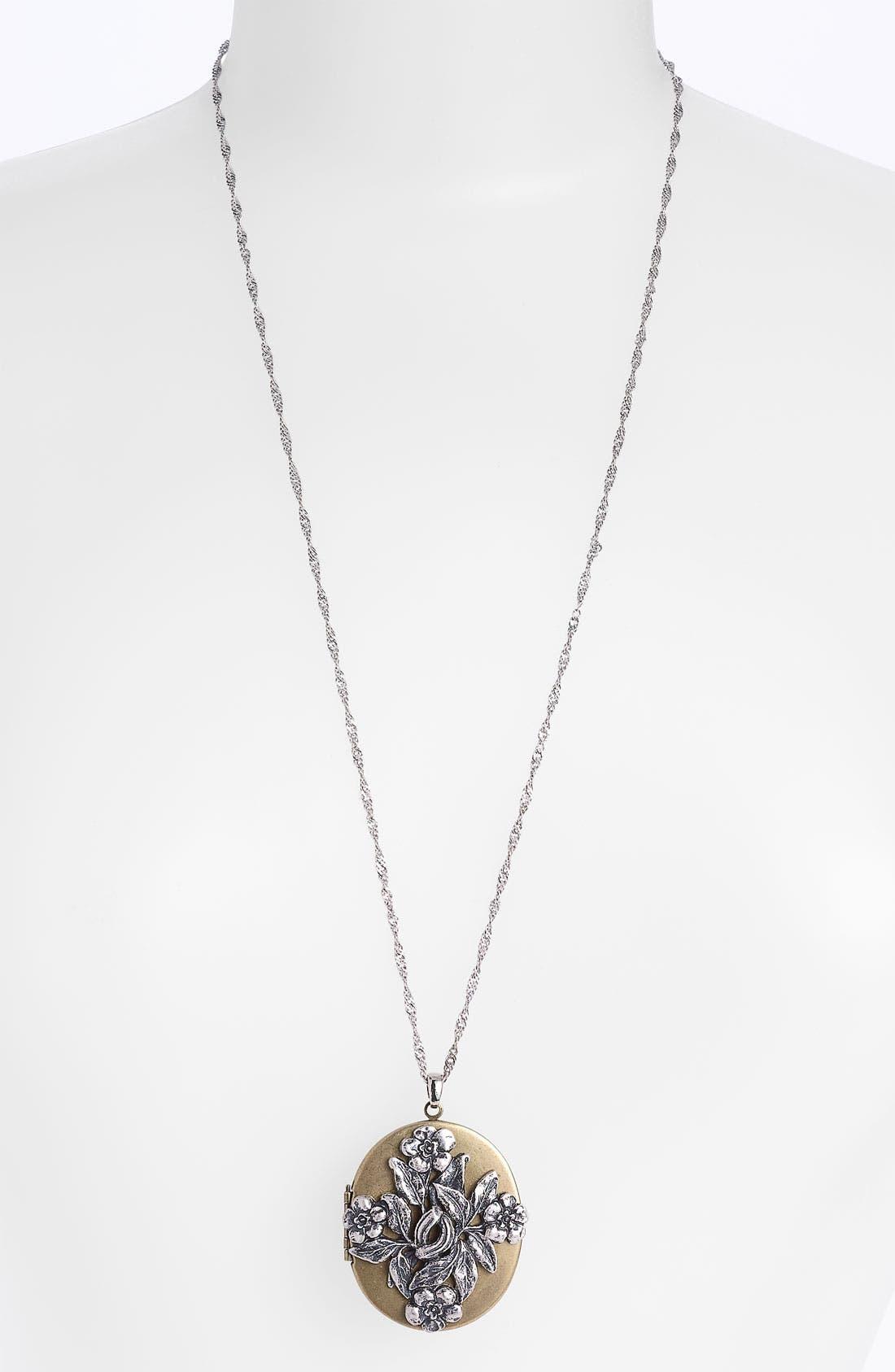 Main Image - Nordstrom 'Romantics' Locket Necklace