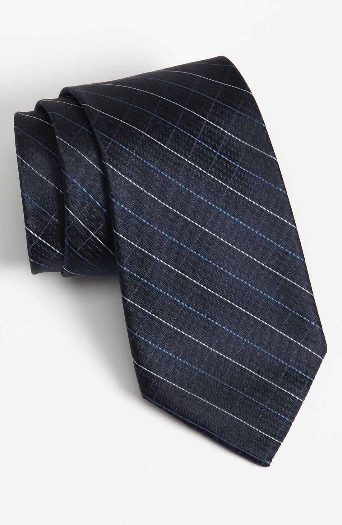 Main Image - Calvin Klein Woven Silk Tie (Online Only)