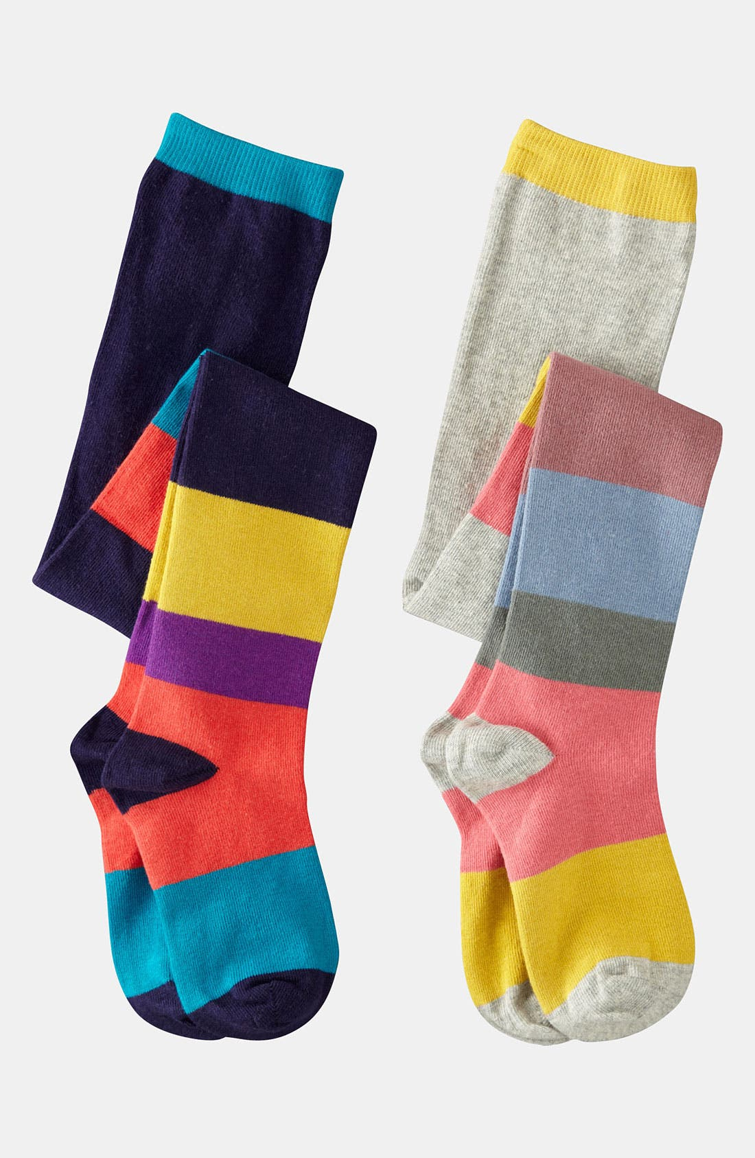 Alternate Image 1 Selected - Mini Boden Tights (2-Pack) (Toddler)