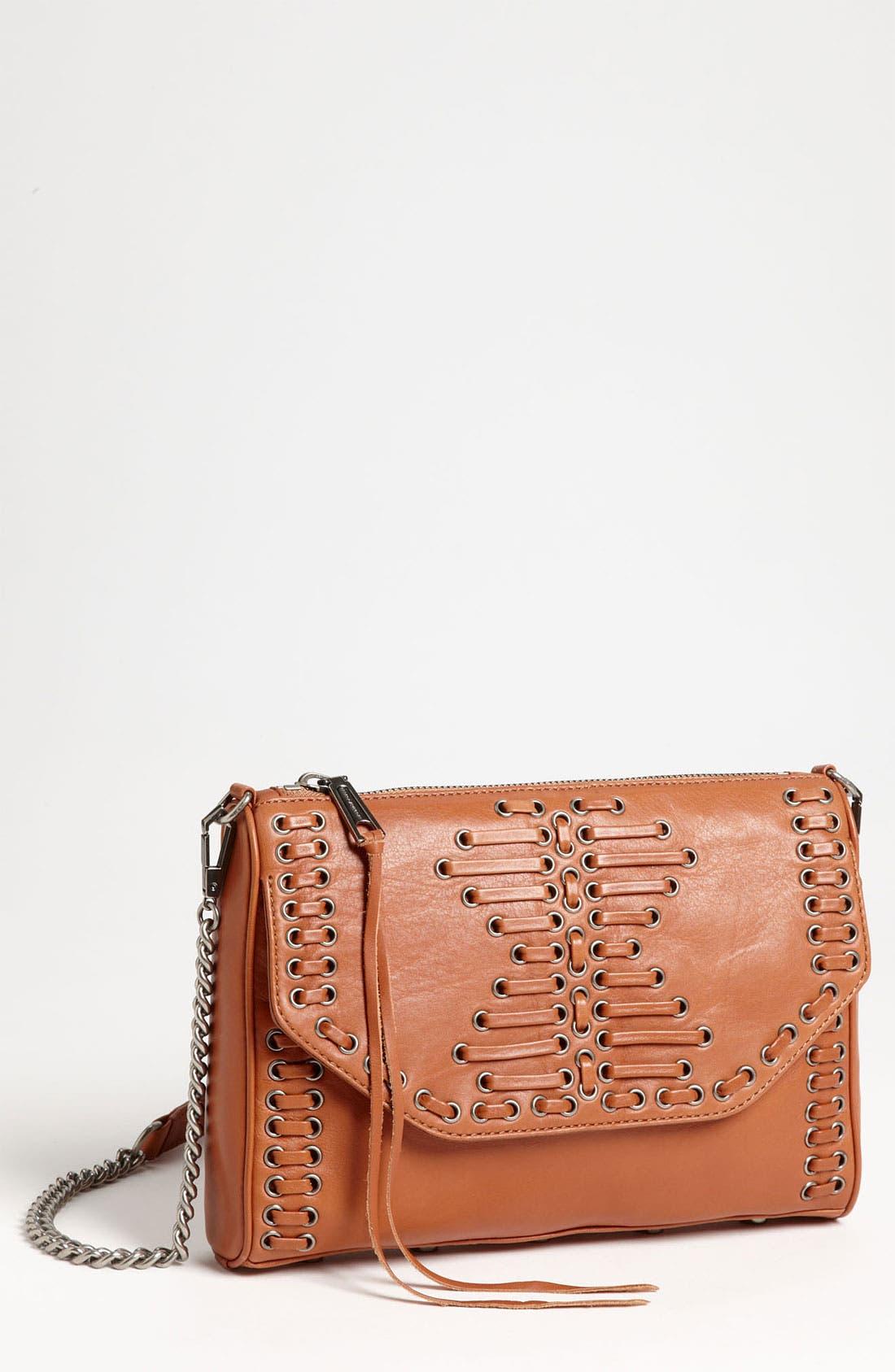 Alternate Image 1 Selected - Rebecca Minkoff Stitched Shoulder Bag