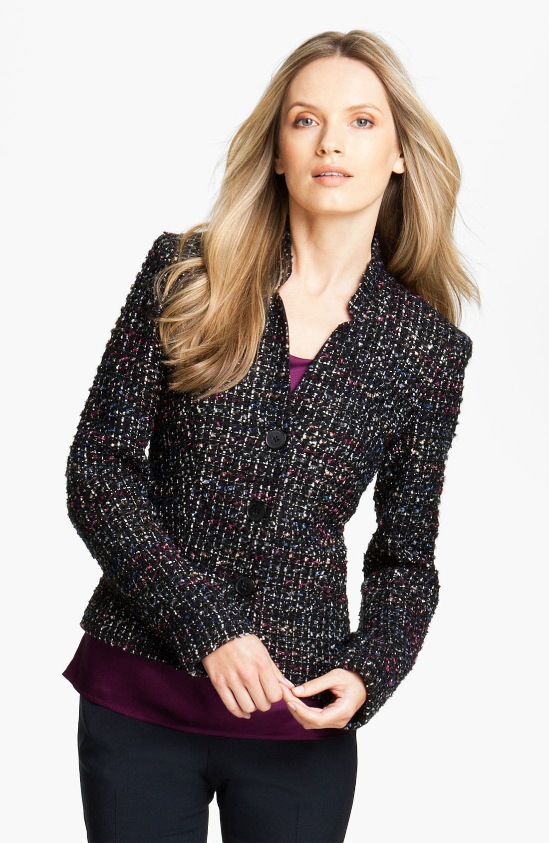 Alternate Image 1 Selected - Lafayette 148 New York 'Menon Cambria Tweed' Jacket