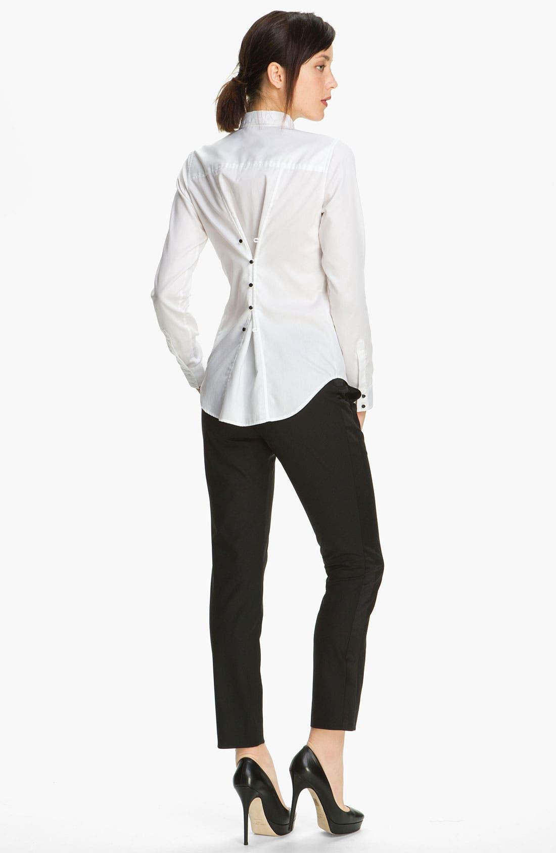 Alternate Image 2  - Elizabeth and James 'Carter' Tuxedo Shirt