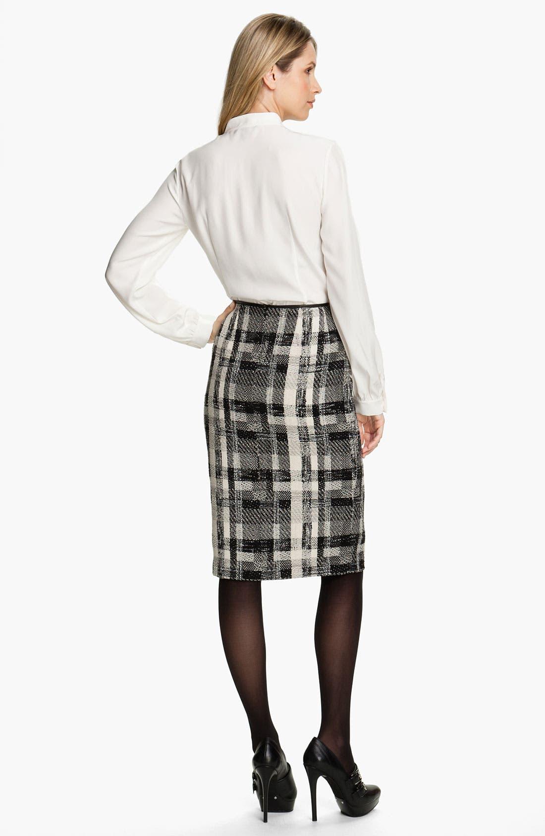Alternate Image 5  - Lafayette 148 New York Fragmented Tweed Skirt