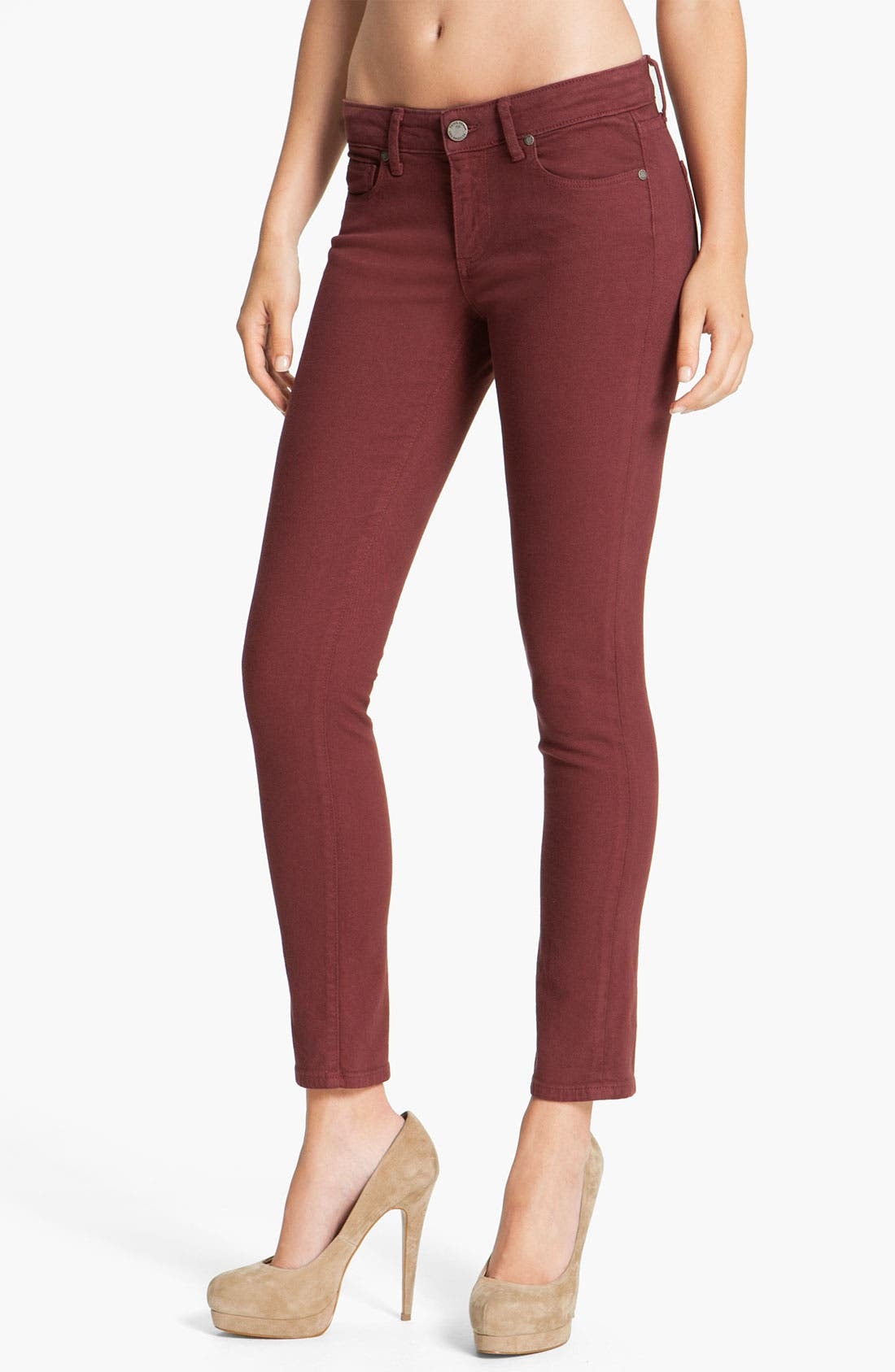 Main Image - Paige Denim 'Skyline' Skinny Jeans (Cheer)