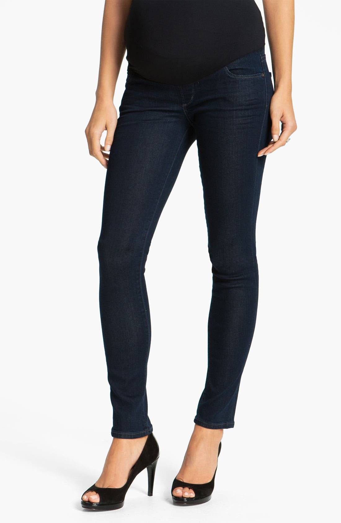 Alternate Image 1 Selected - Citizens of Humanity Maternity Skinny Jeans (Divine)