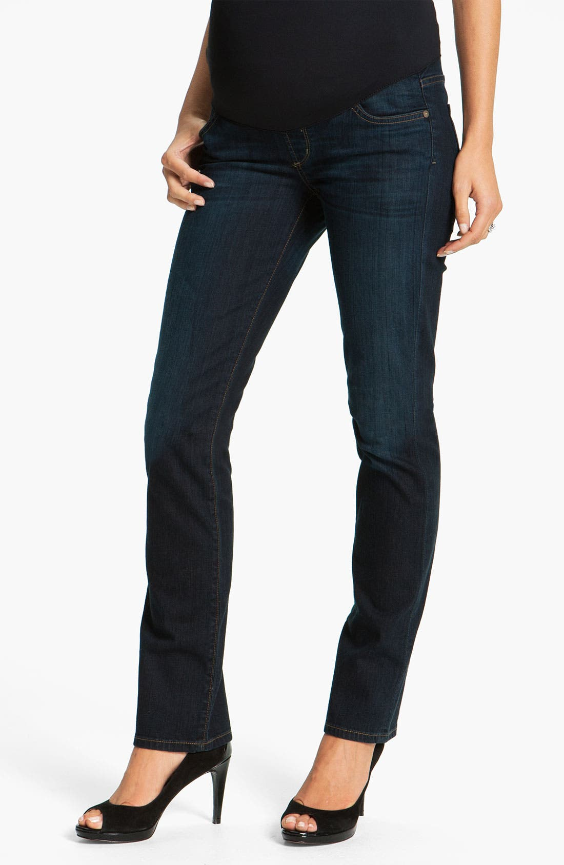 Alternate Image 1 Selected - Citizens of Humanity 'Thompson' Maternity Skinny Jeans (Faith)