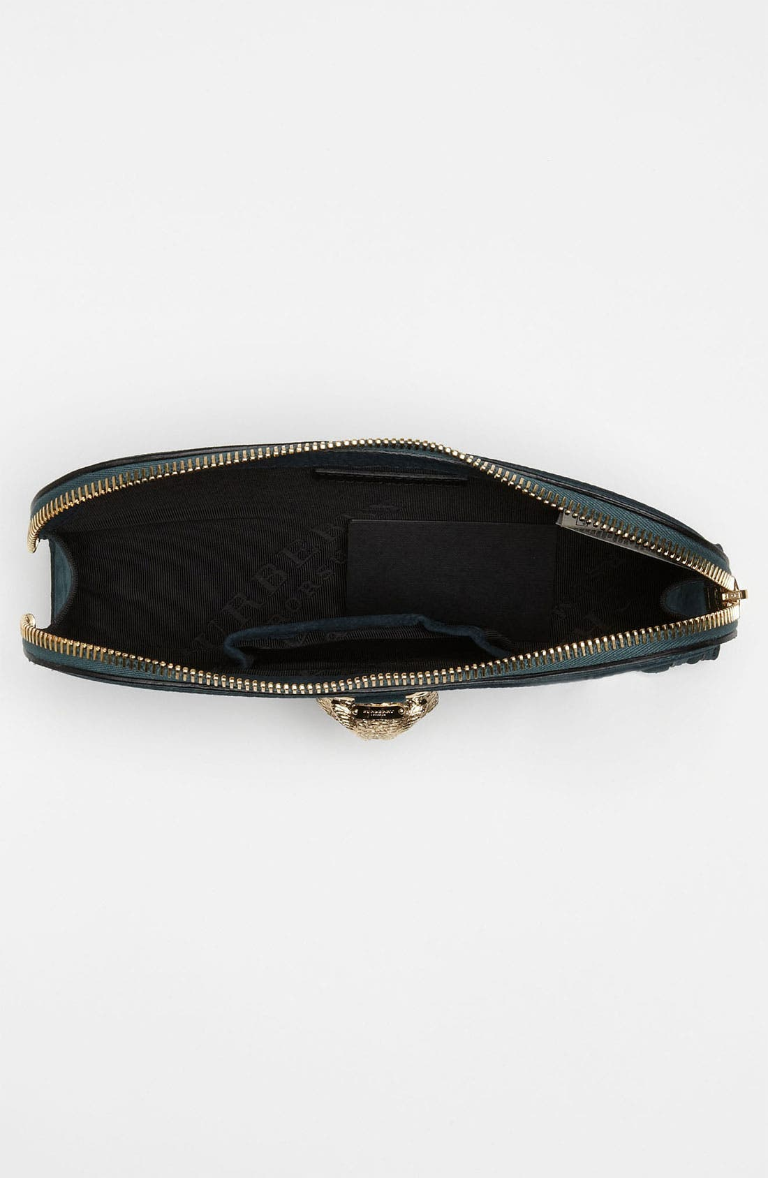 Alternate Image 3  - Burberry Prorsum Nubuck Leather Clutch
