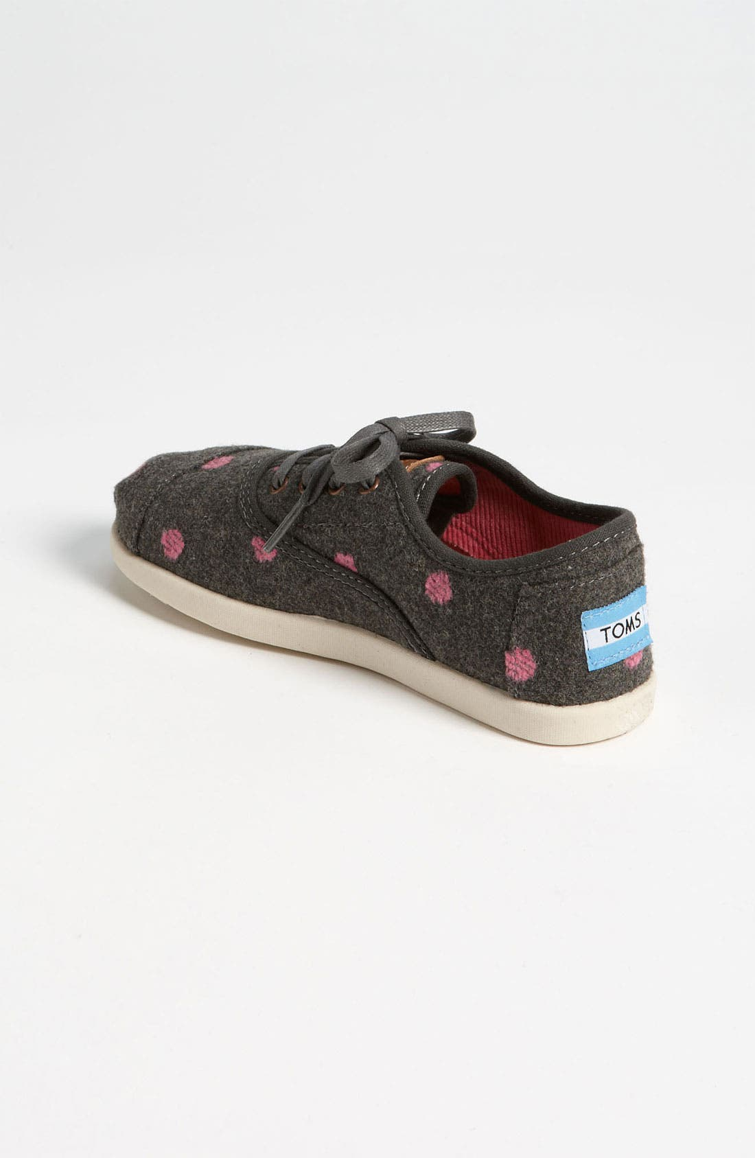 Alternate Image 2  - TOMS 'Cordones - Youth' Wool Slip-On (Toddler, Little Kid & Big Kid)