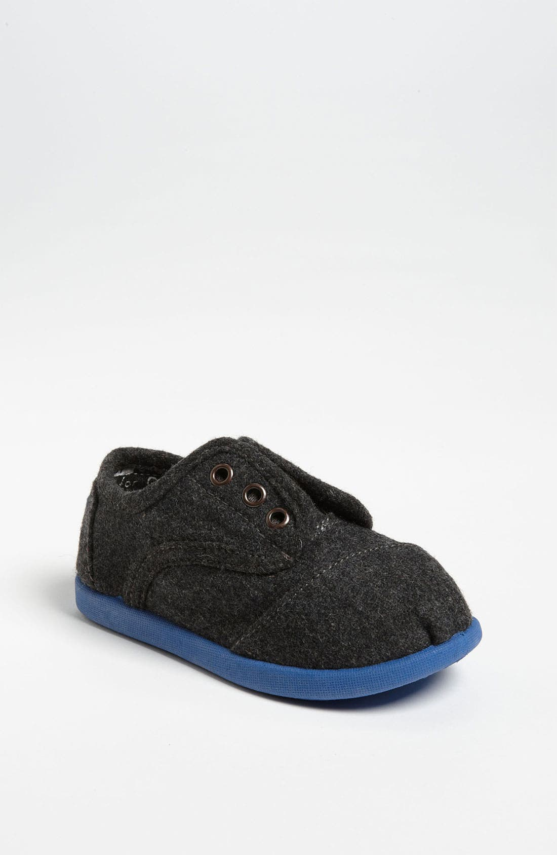 Alternate Image 1 Selected - TOMS 'Cordones - Tiny' Slip-On (Baby, Walker & Toddler)