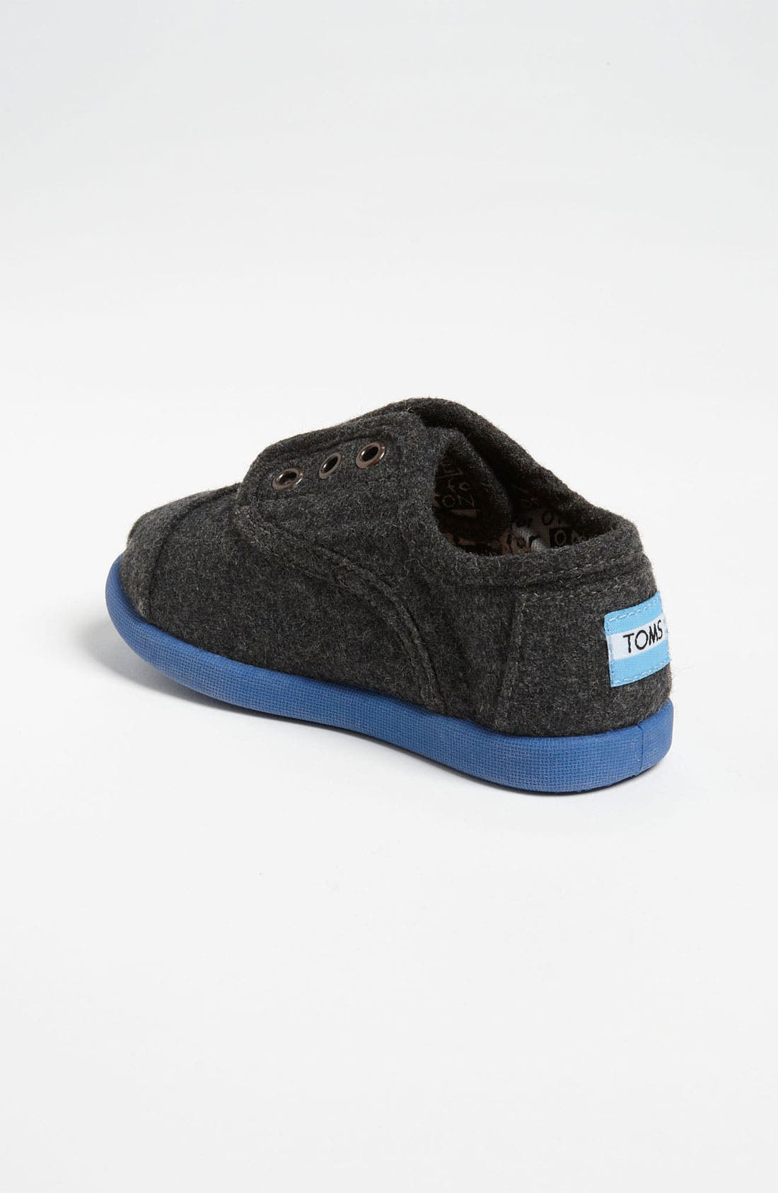 Alternate Image 2  - TOMS 'Cordones - Tiny' Slip-On (Baby, Walker & Toddler)