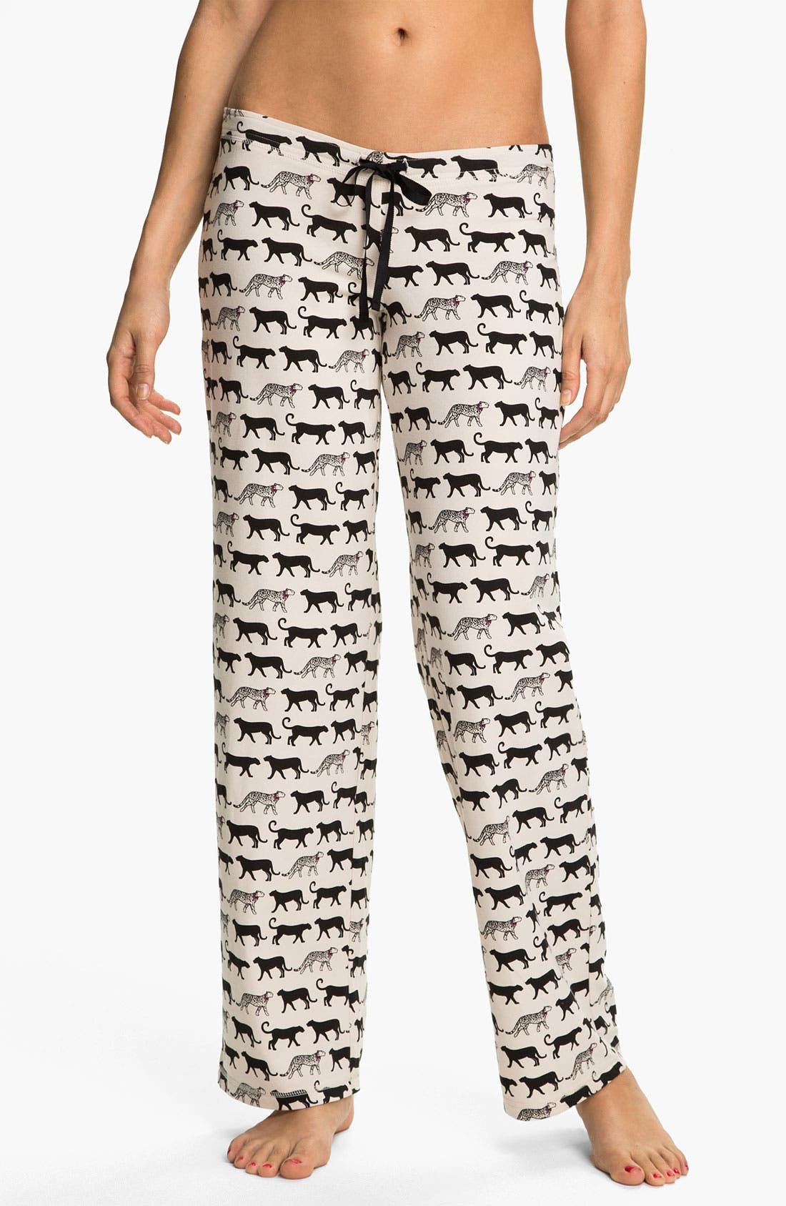 Alternate Image 1 Selected - In Bloom by Jonquil 'Cheetah Tease' Pajama Pants