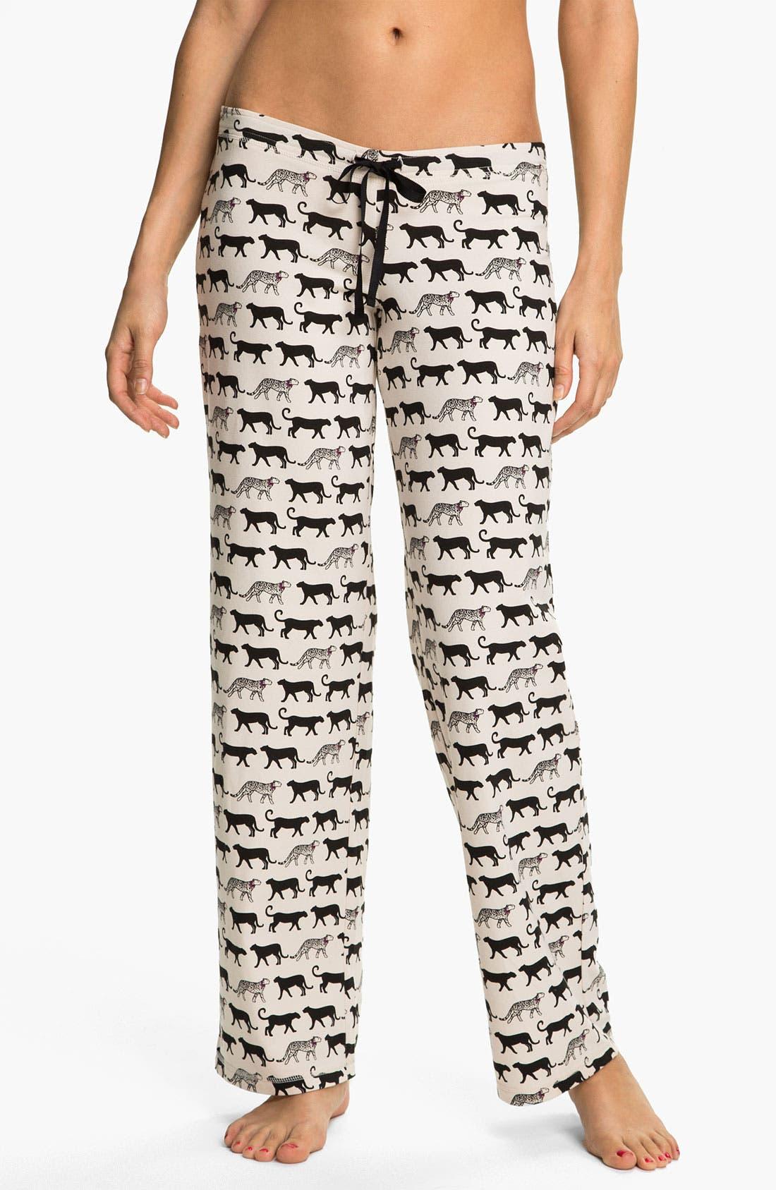 Main Image - In Bloom by Jonquil 'Cheetah Tease' Pajama Pants