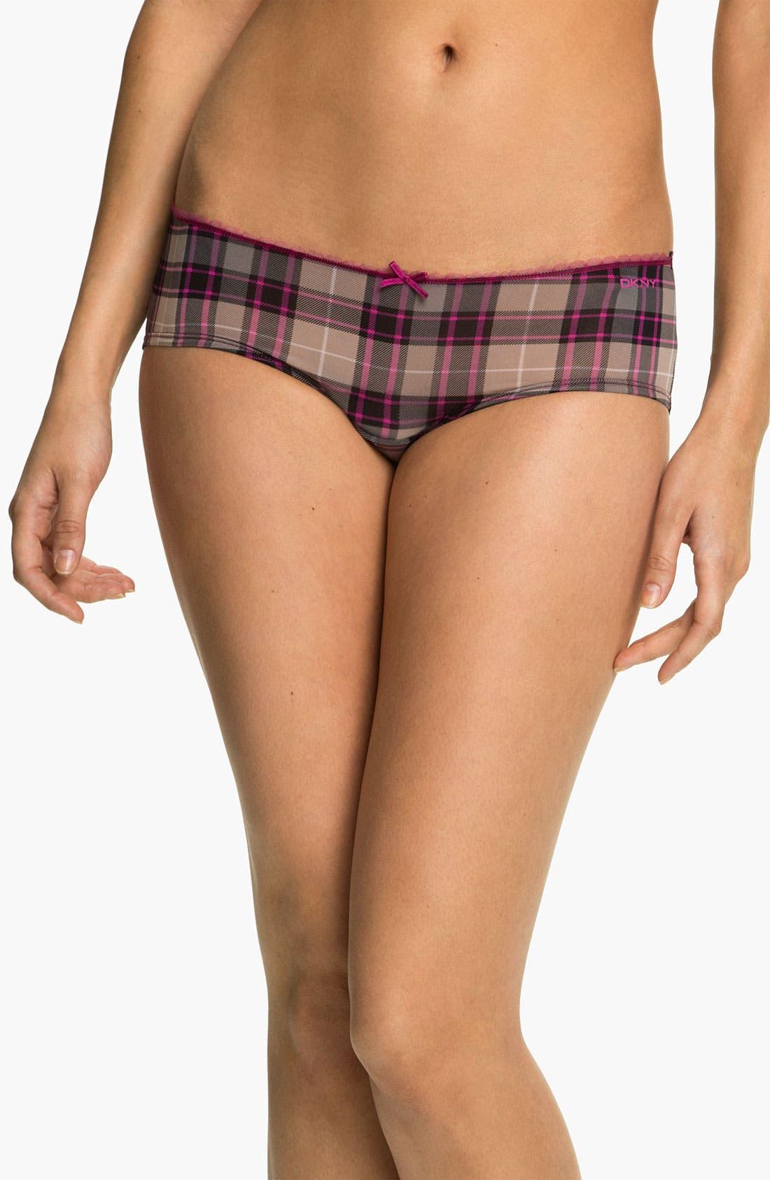 Alternate Image 1 Selected - DKNY 'Super Sleek' Girl Shorts