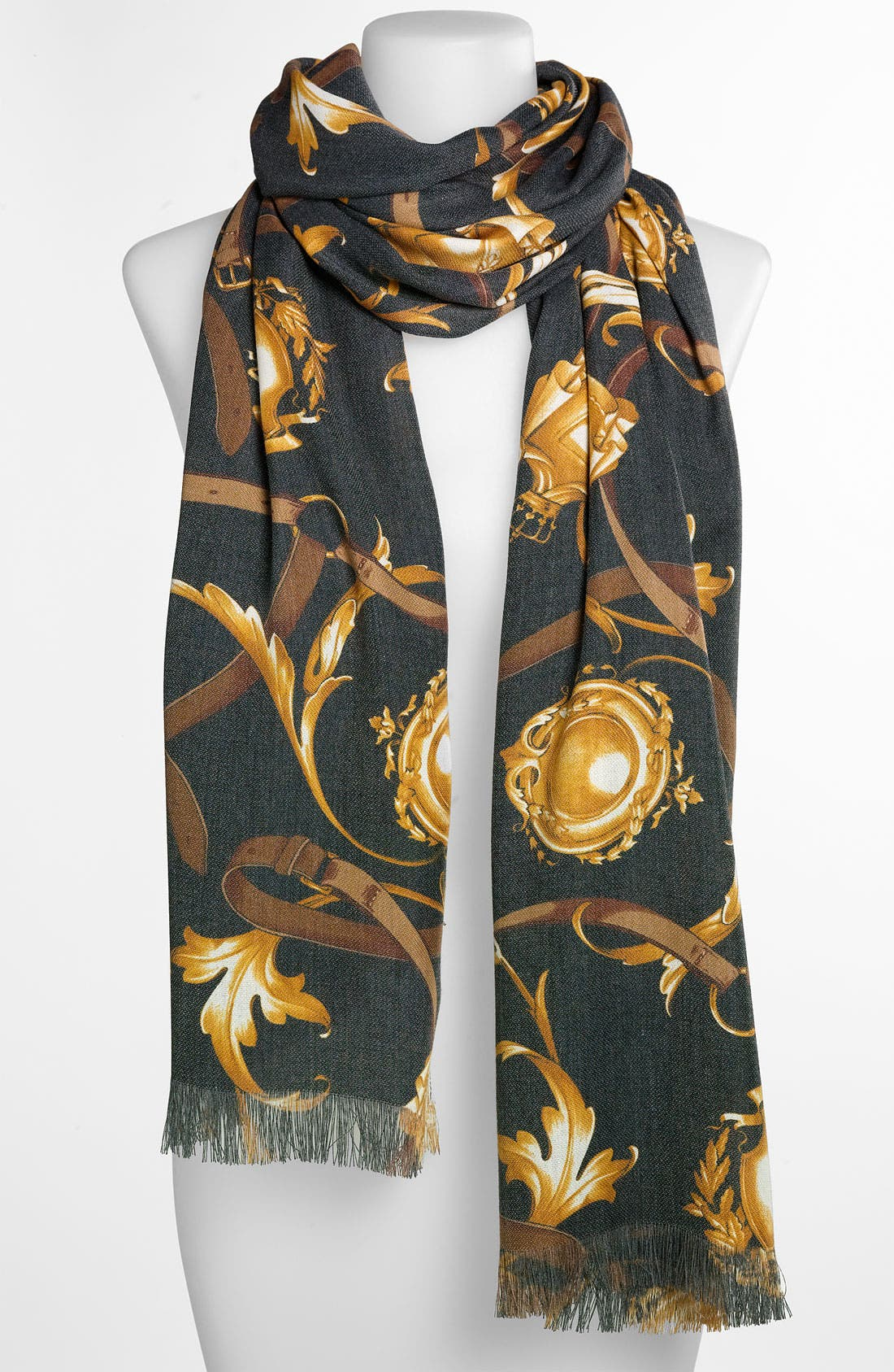 Alternate Image 1 Selected - Hinge® 'Belts' Scarf