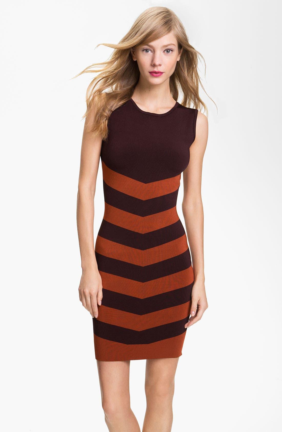 Main Image - Ted Baker London Stripe Shift Dress