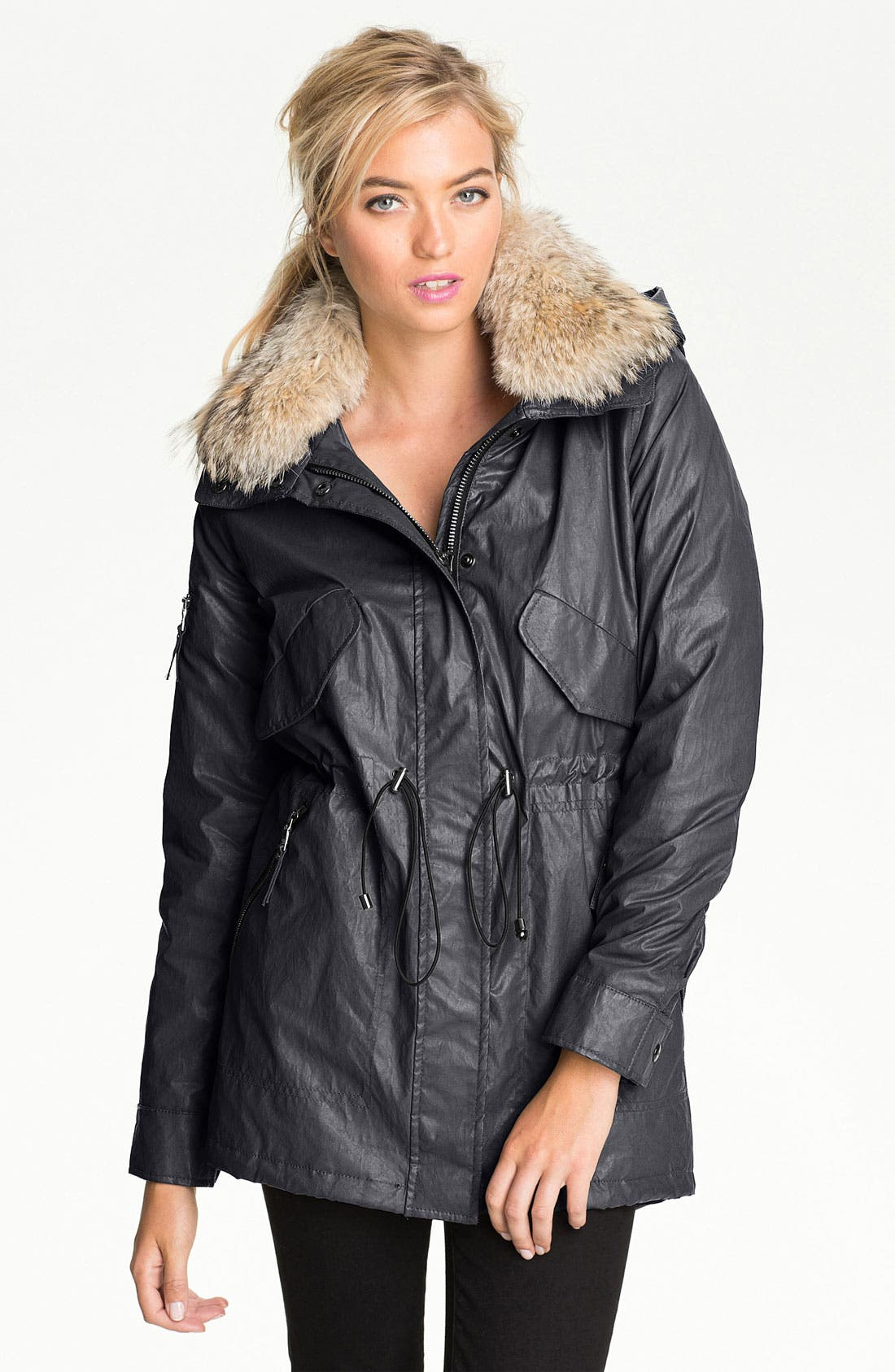 Main Image - SAM Parka with Detachable Coyote Fur Collar
