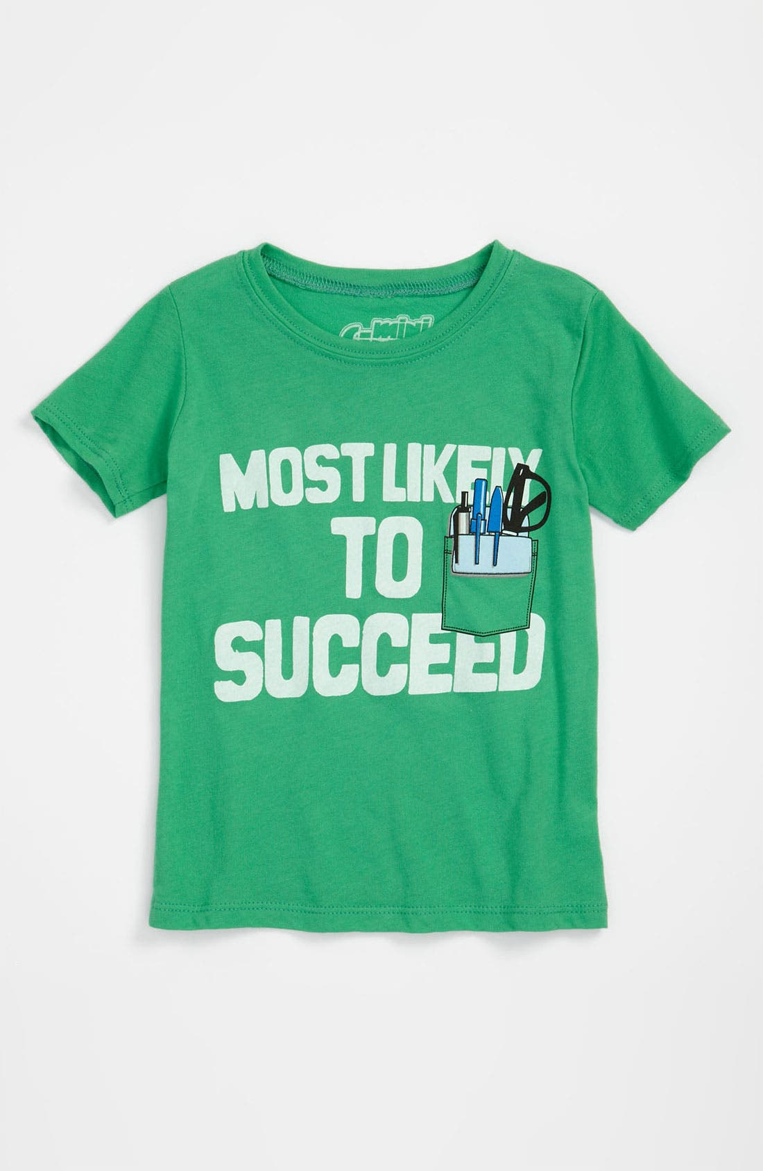 Alternate Image 1 Selected - Mighty Fine 'Success' T-Shirt (Toddler)