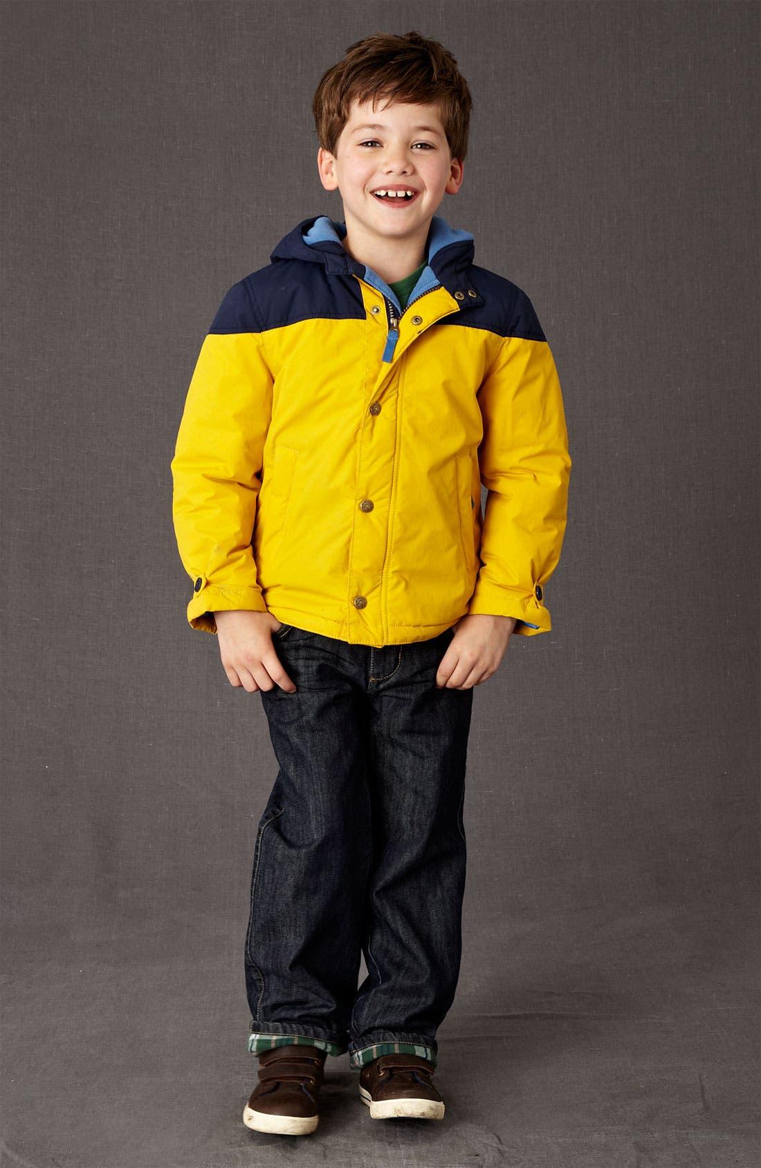 Alternate Image 2  - Mini Boden Fleece Lined Jacket (Little Boys & Big Boys)