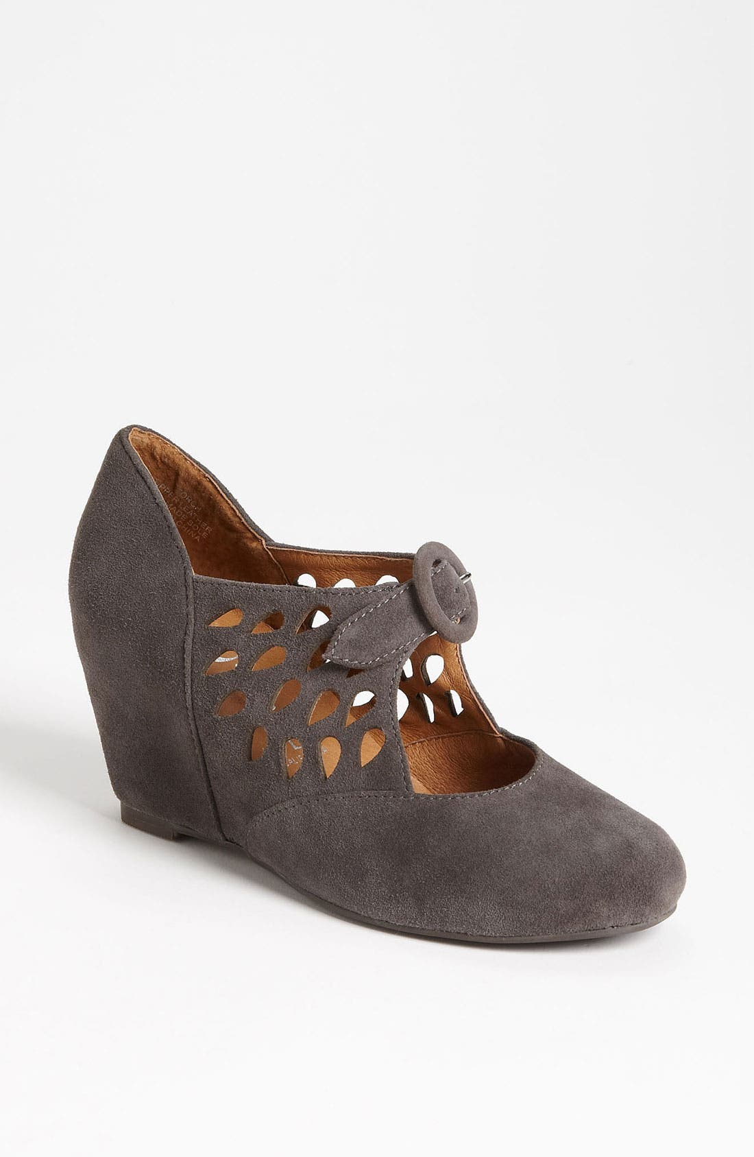 Alternate Image 1 Selected - Jeffrey Campbell 'Torch' Mary Jane Wedge