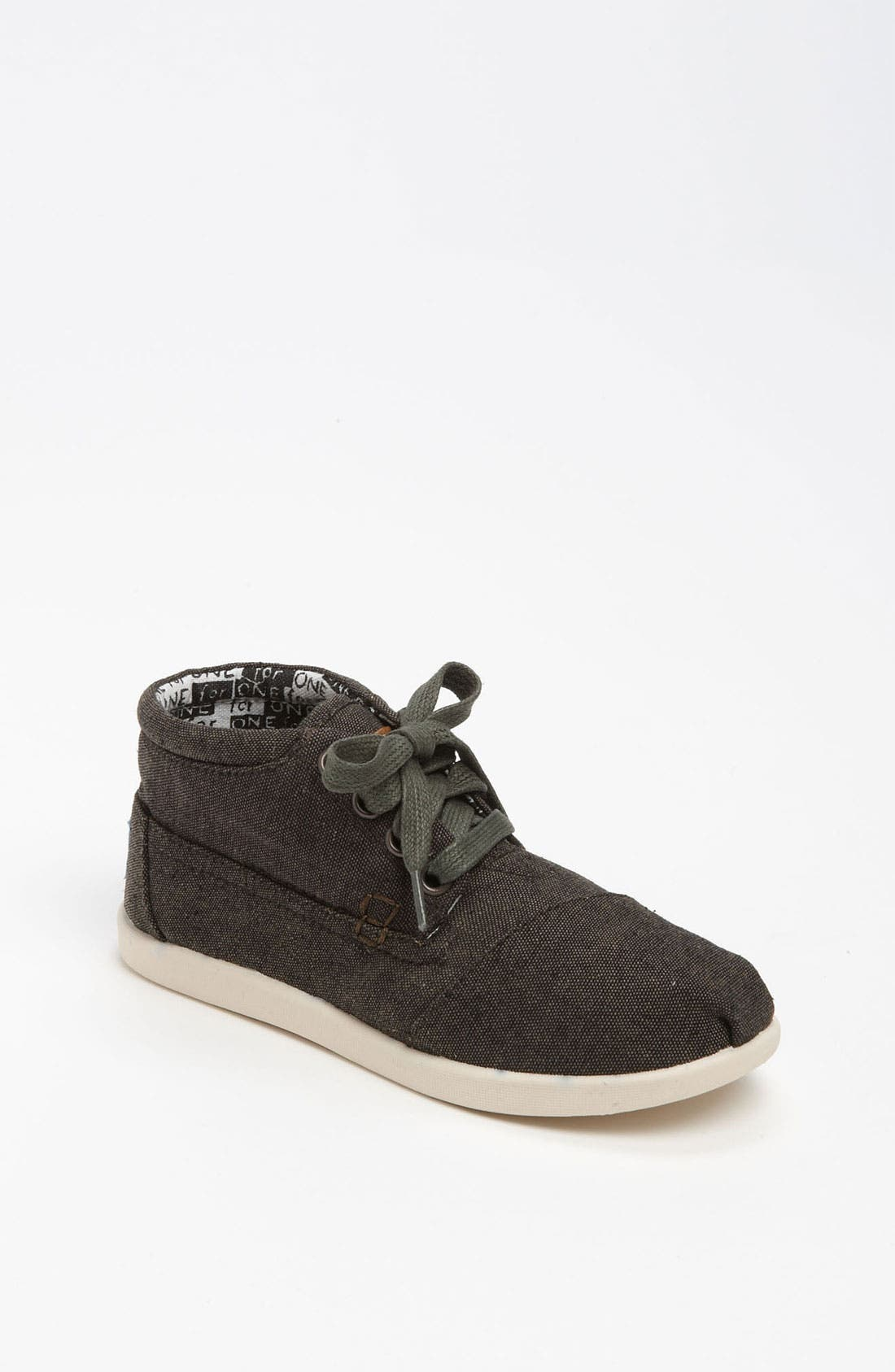Main Image - TOMS 'Botas - Youth' Chambray Boot (Toddler, Little Kid & Big Kid)