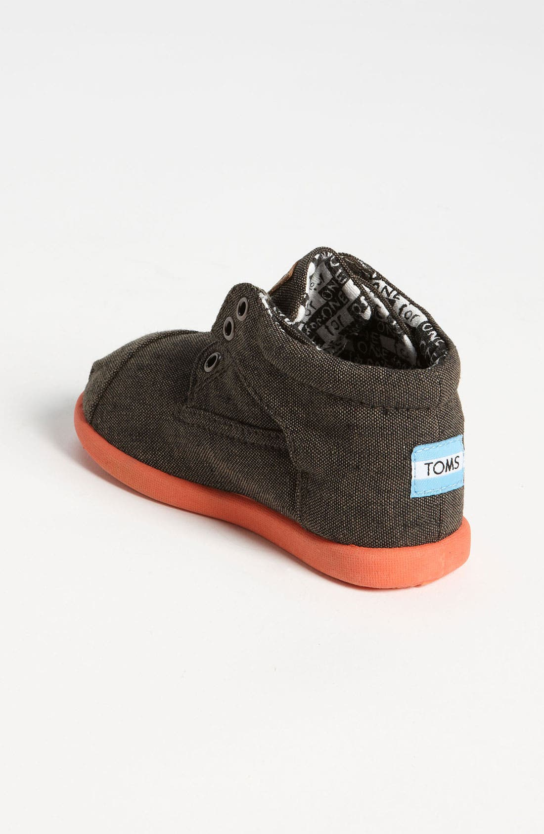Alternate Image 2  - TOMS 'Botas - Tiny' Chambray Boot (Baby, Walker & Toddler)