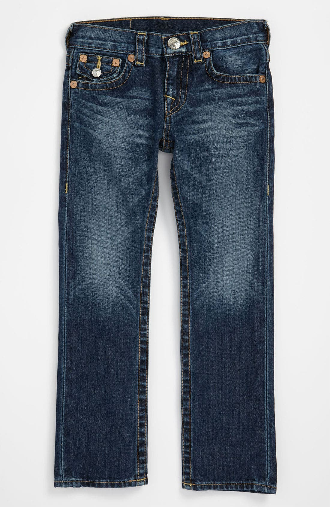 Alternate Image 2  - True Religion Brand Jeans 'Jack' Relaxed Straight Leg Jeans (Big Boys)