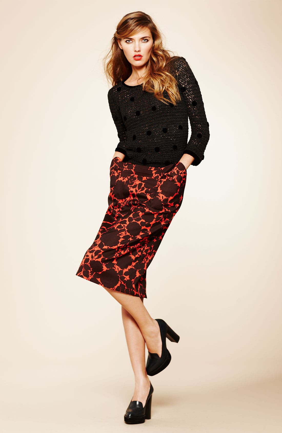 Alternate Image 4  - MARC BY MARC JACOBS 'Clarice' Floral Skirt