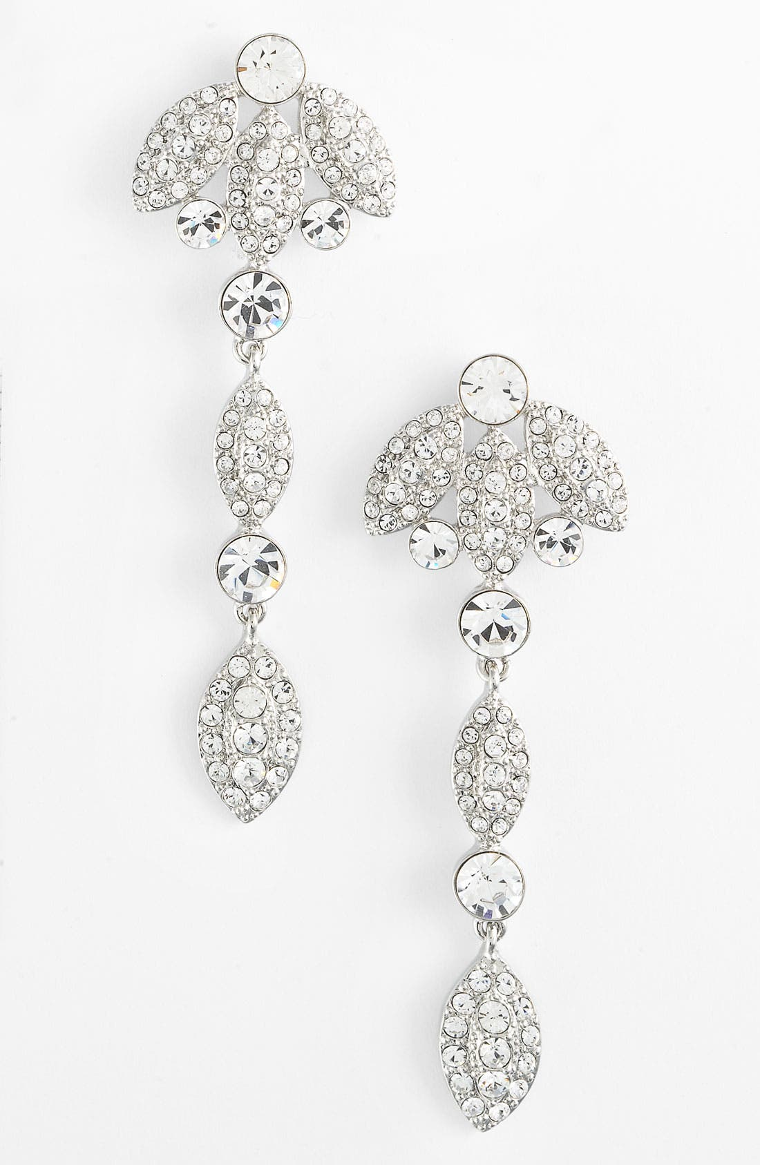 Main Image - Givenchy 'Femme - Kelly' Crystal Linear Earrings