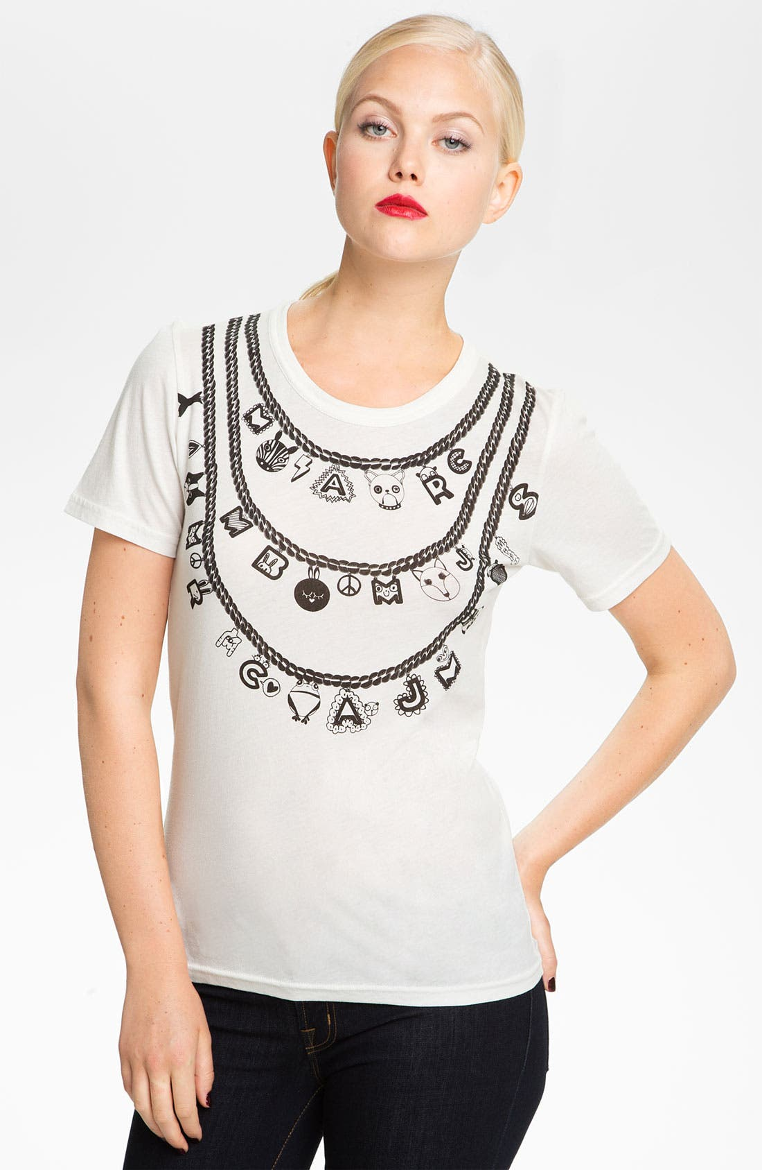 Alternate Image 1 Selected - MARC BY MARC JACOBS 'Dreamy' Necklace Tee