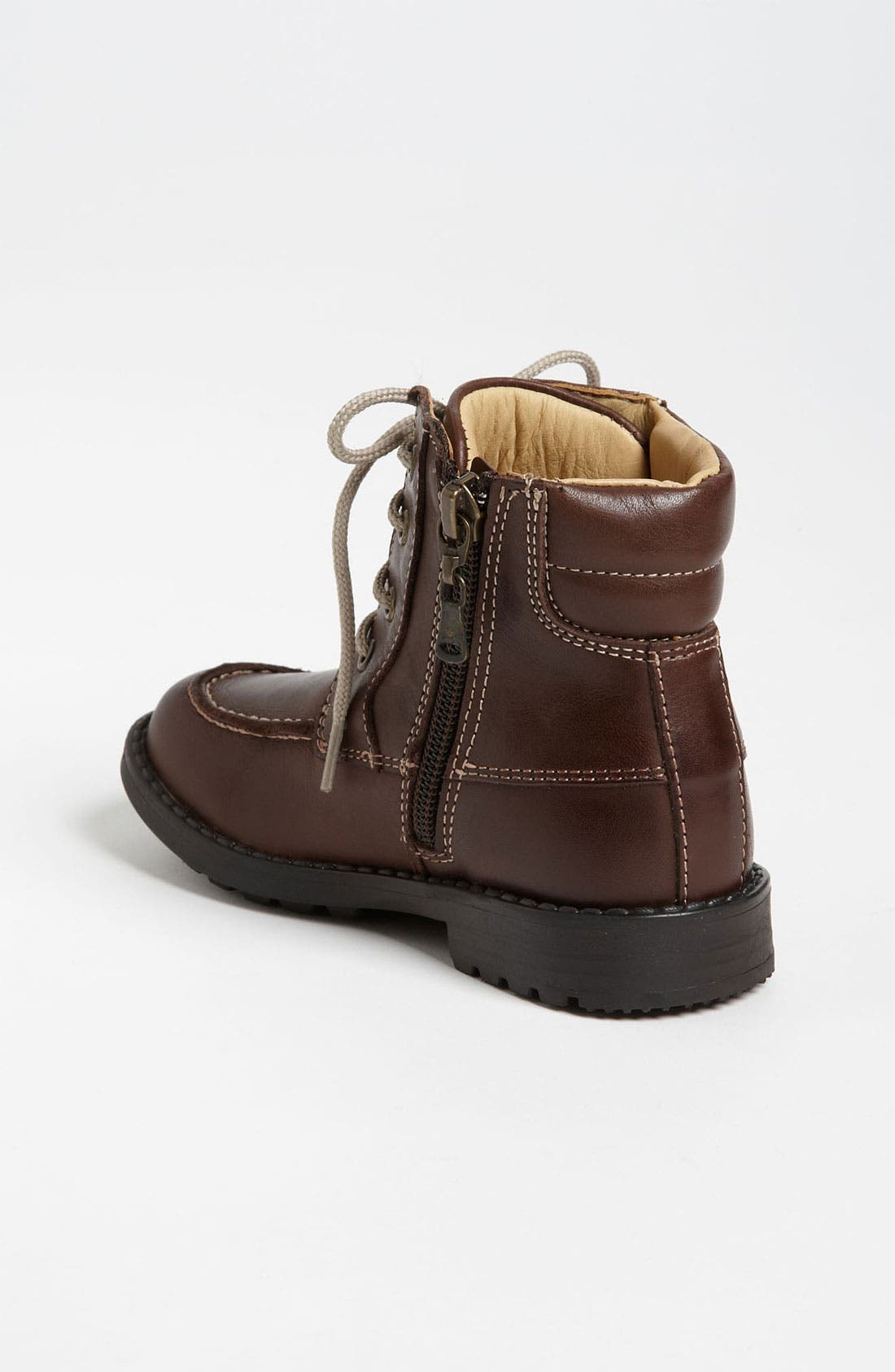 Alternate Image 2  - Armani Junior Leather Boot (Walker & Toddler)