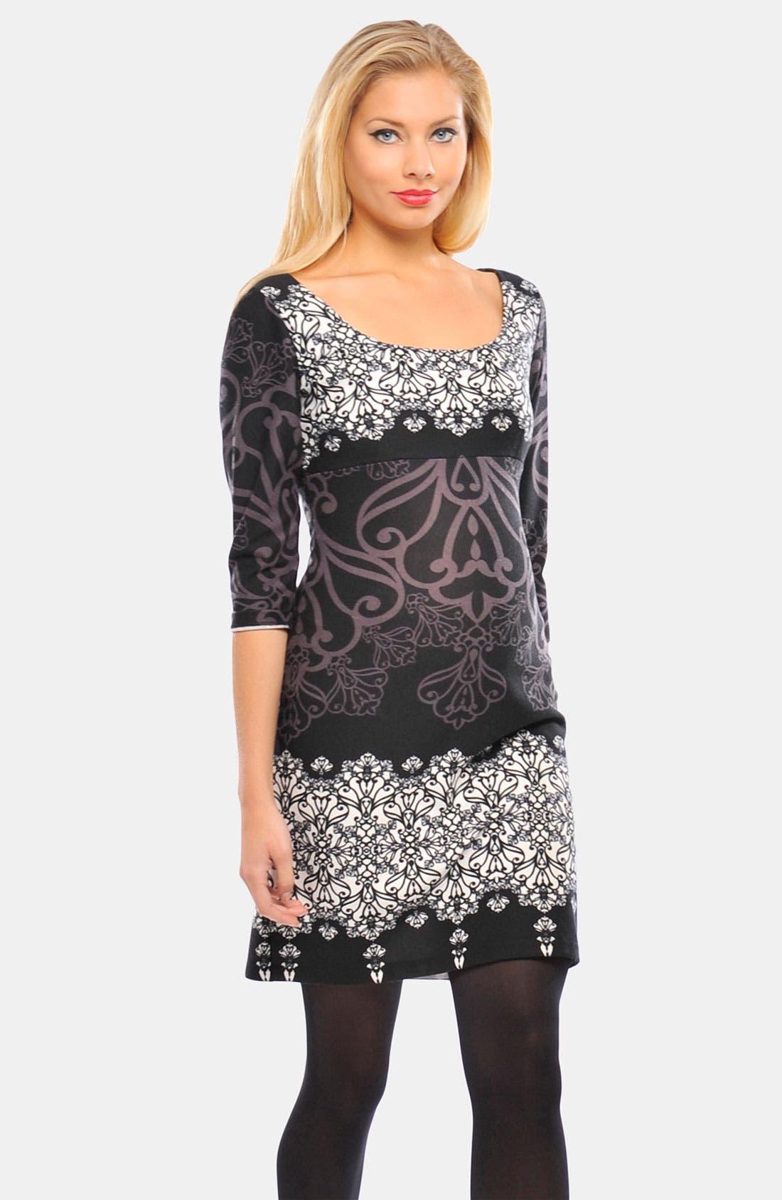 Alternate Image 1 Selected - Olian 'Suzie' Ponte Maternity Dress