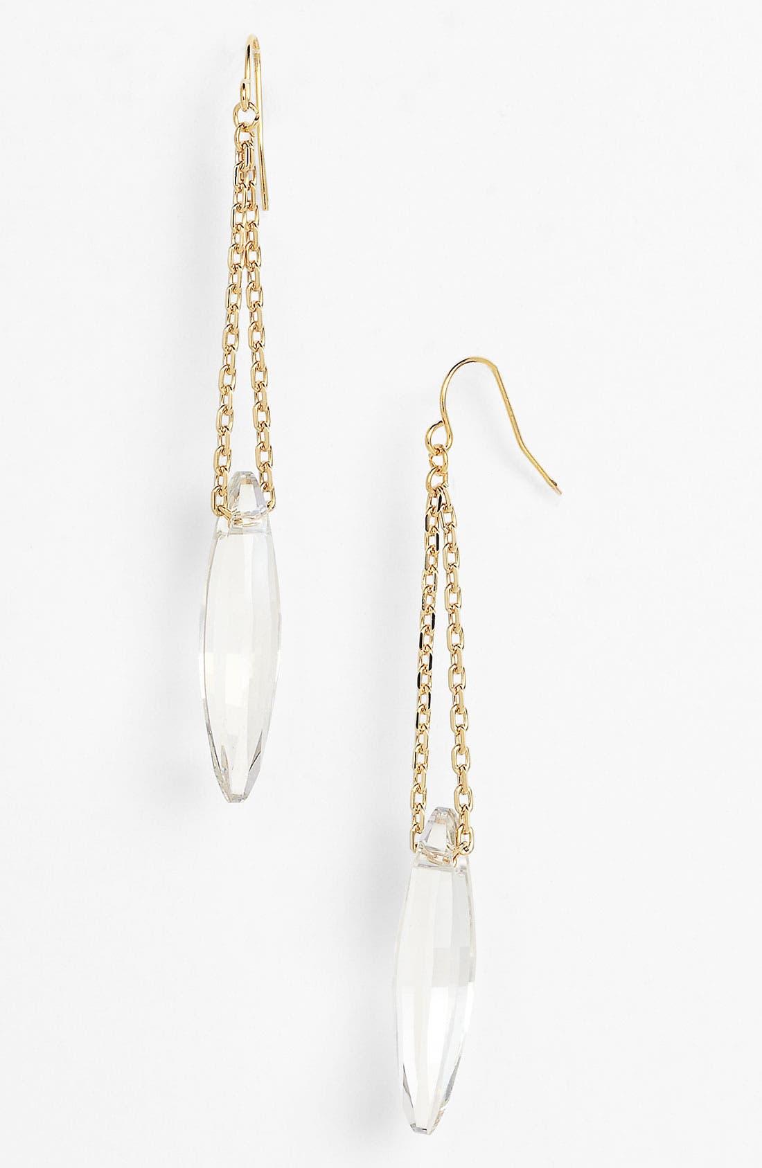 Alternate Image 1 Selected - Nordstrom 'Bryn' Crystal Linear Earrings