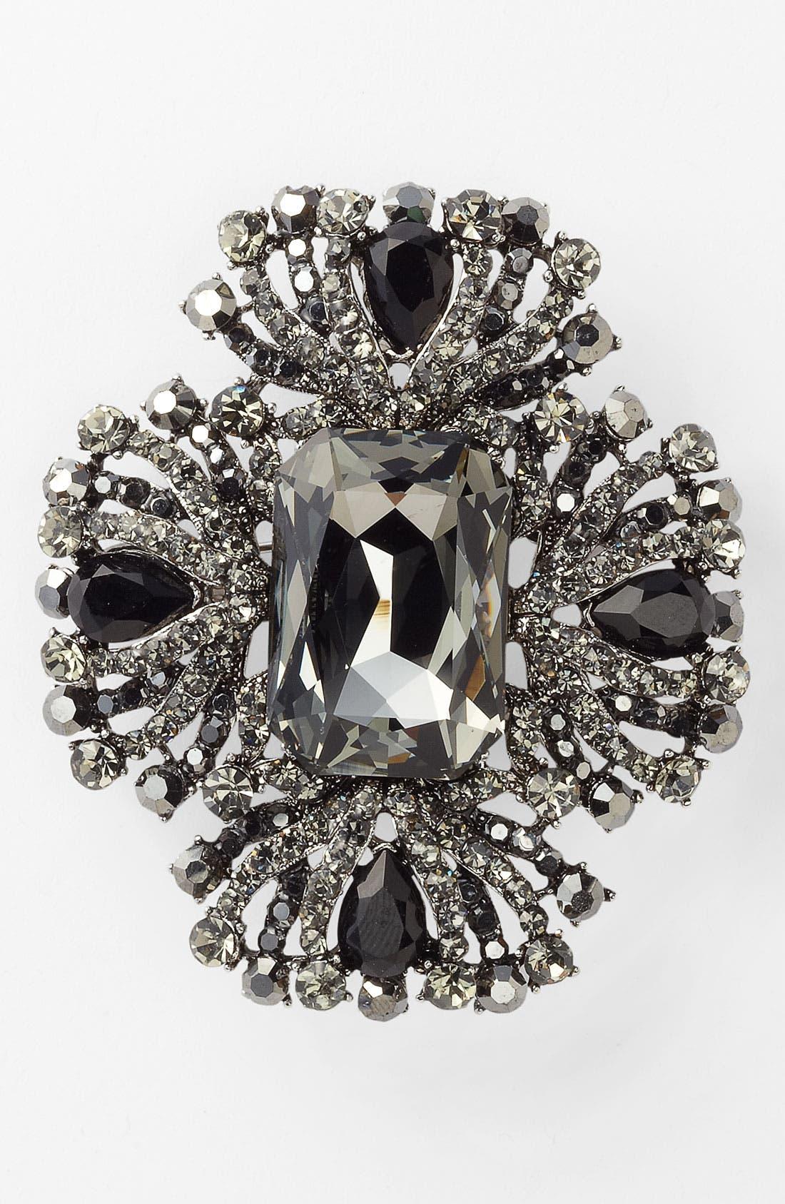 Main Image - Tasha Crystal Brooch