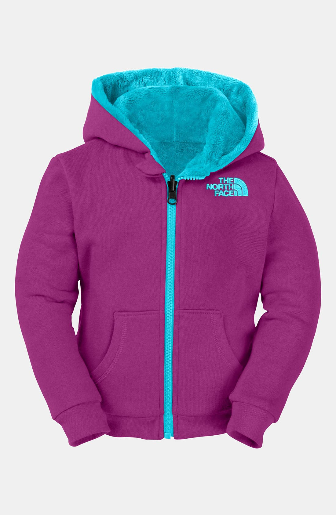 Alternate Image 1 Selected - The North Face 'Elloise' Reversible Hoodie (Toddler)
