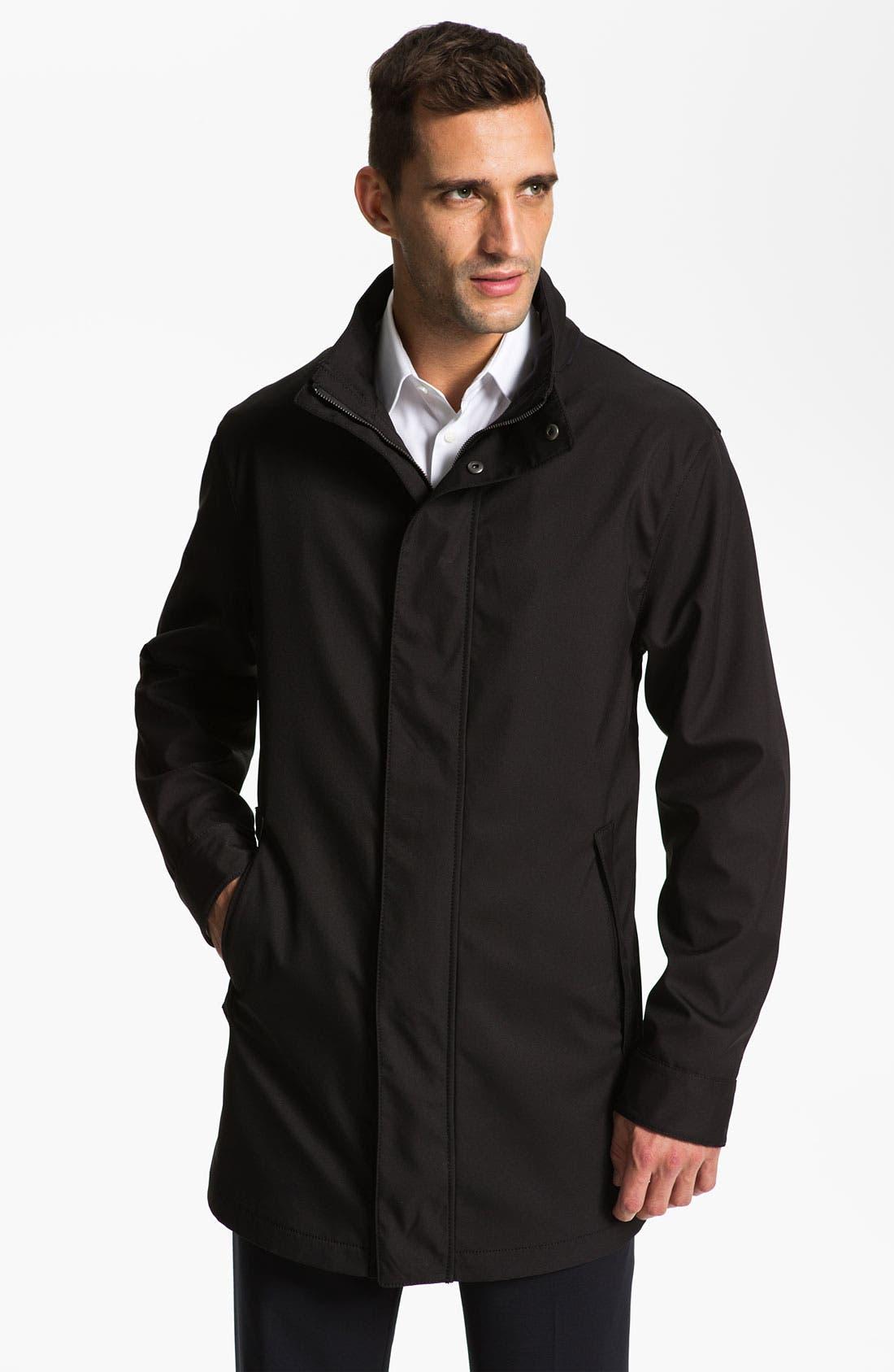 Main Image - Armani Collezioni 'Matrix' Top Coat