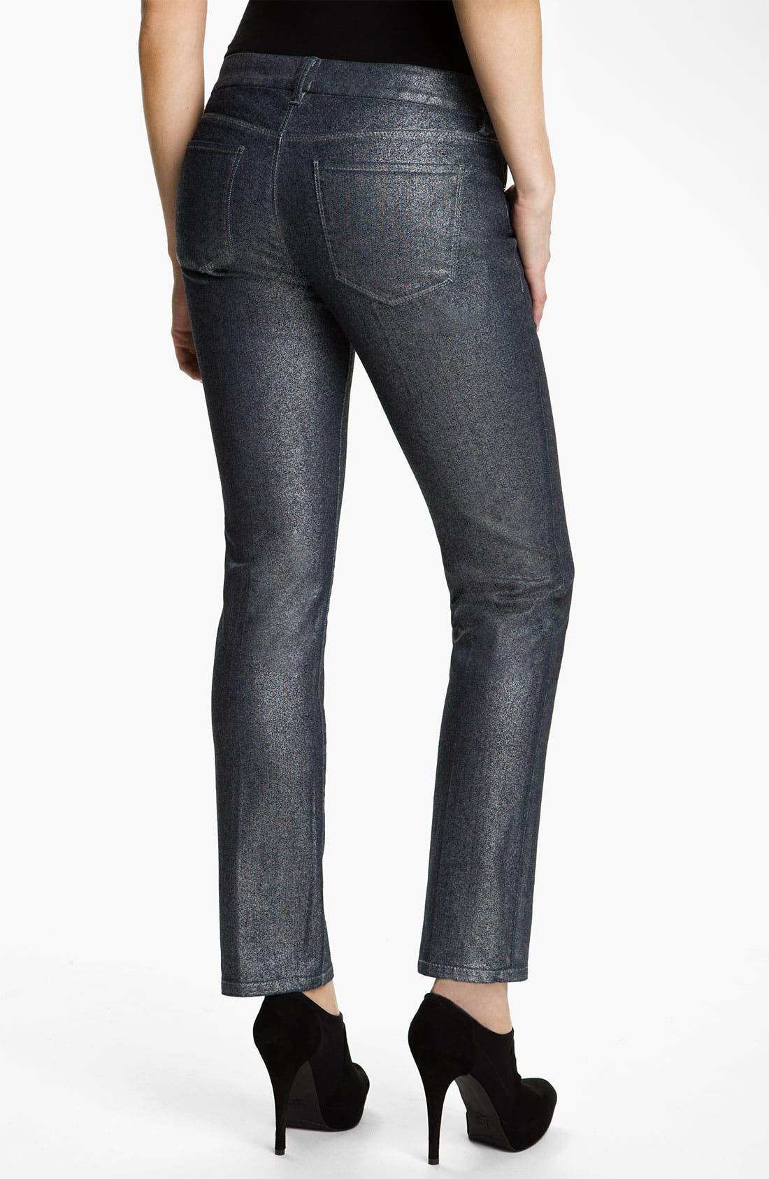 Alternate Image 2  - Isaac Mizrahi Jeans 'Ali' Slim Straight Leg Jeans