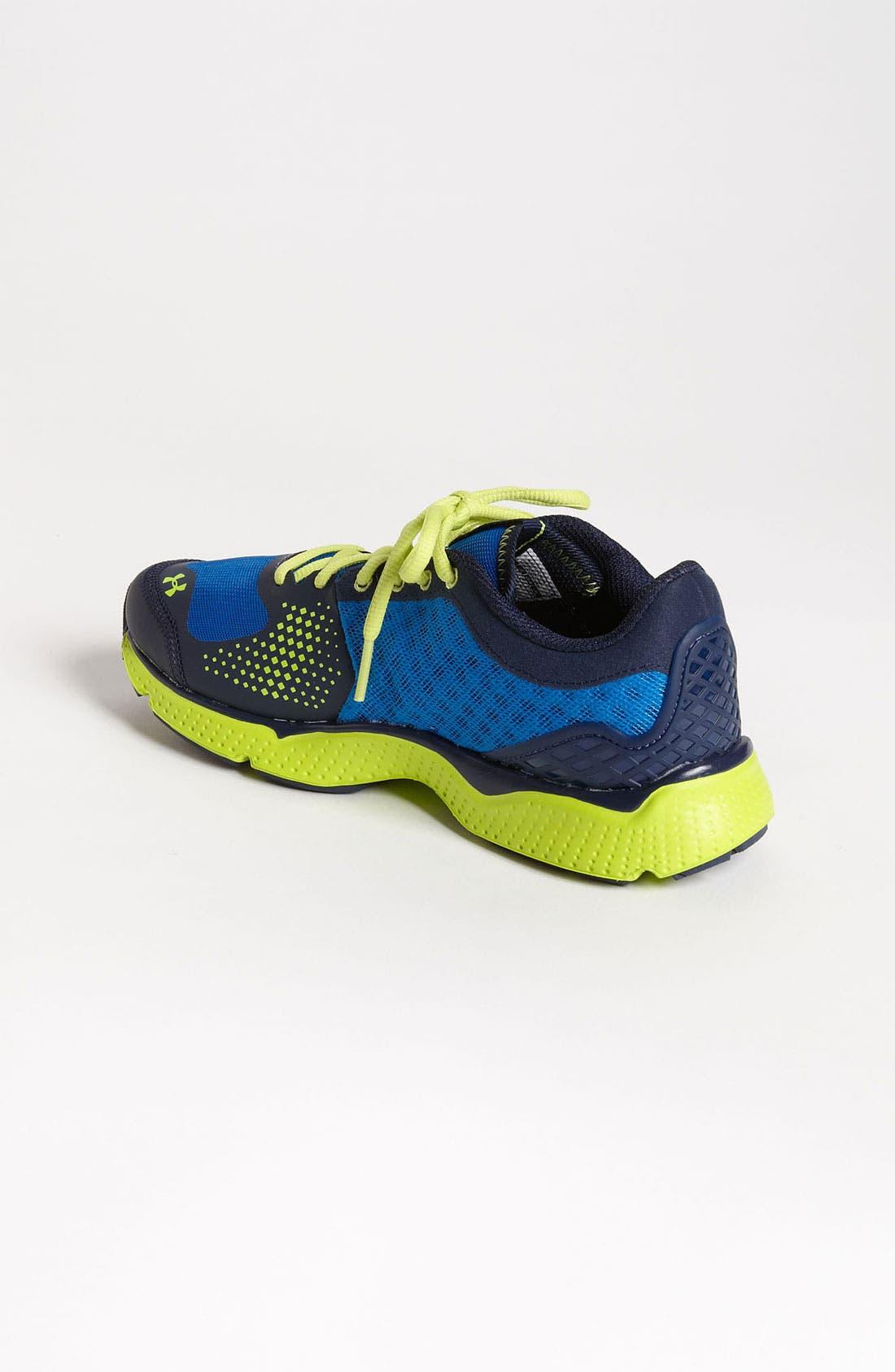 Alternate Image 2  - Under Armour 'Micro G®' Sneaker (Big Kid)