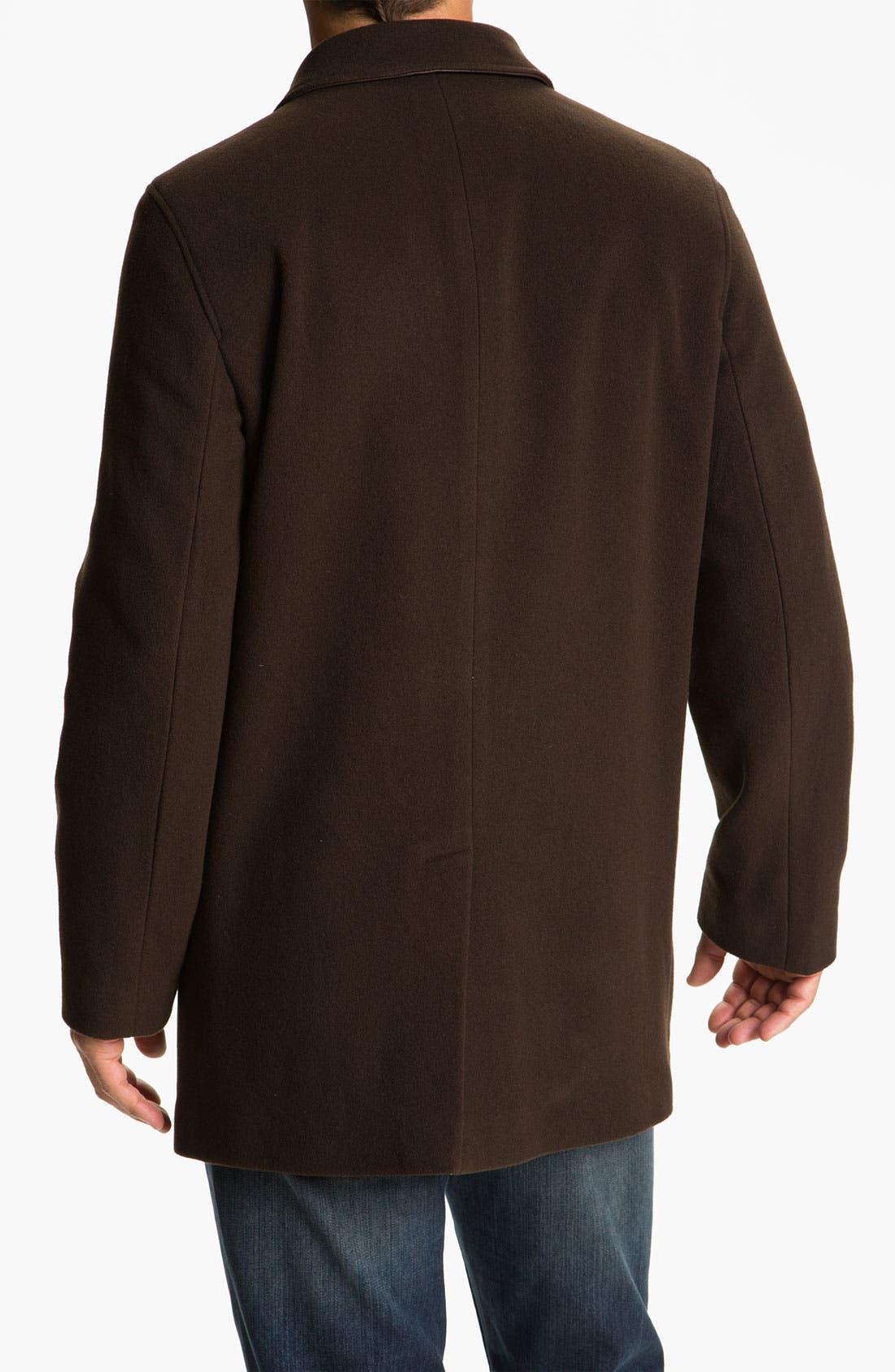 Alternate Image 2  - Cole Haan Wool & Cashmere Blend Coat (Online Exclusive)