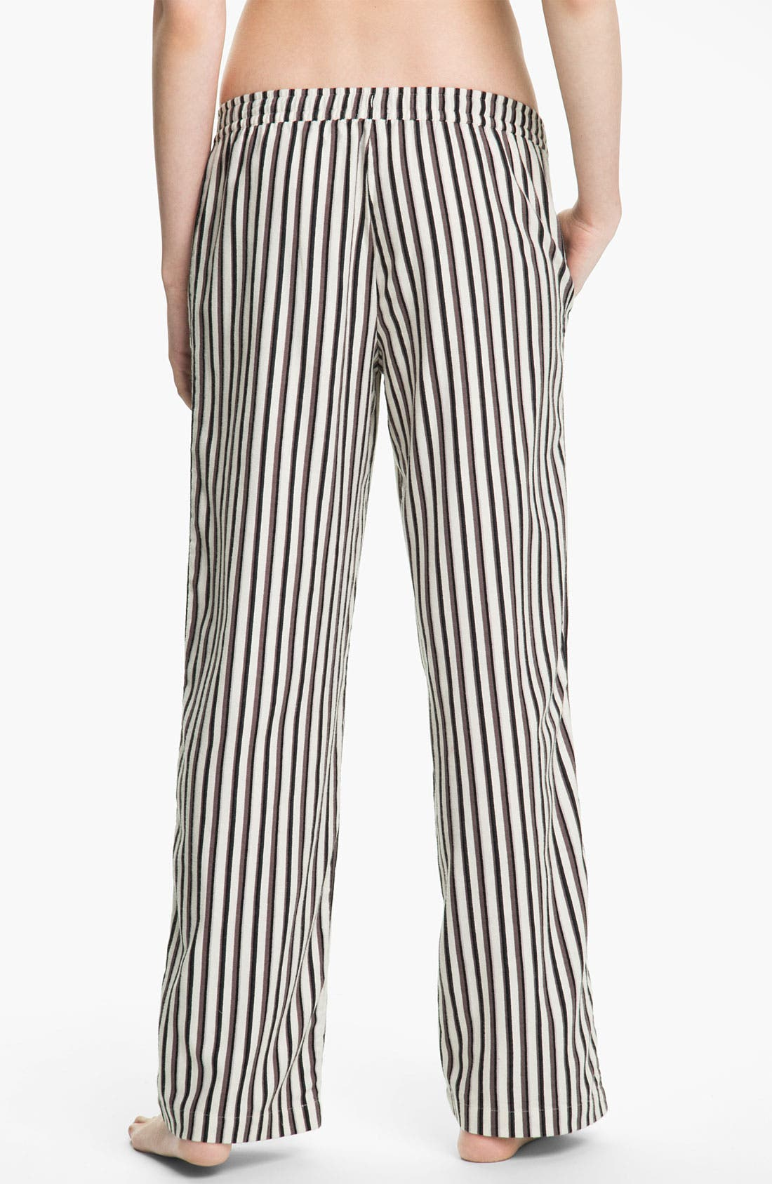 Alternate Image 2  - DKNY 'Man's World' Flannel Pajama Pants