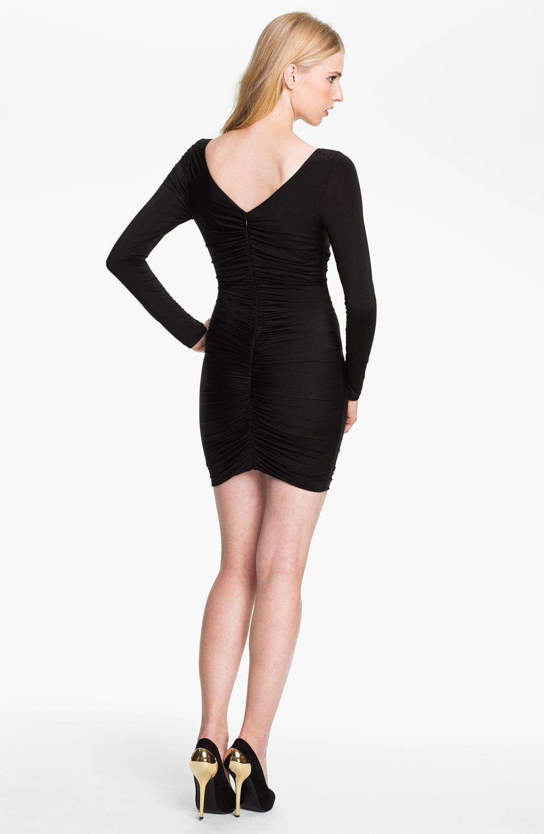 Alternate Image 2  - Jay Godfrey 'Yasuda' Ruched Jersey Dress