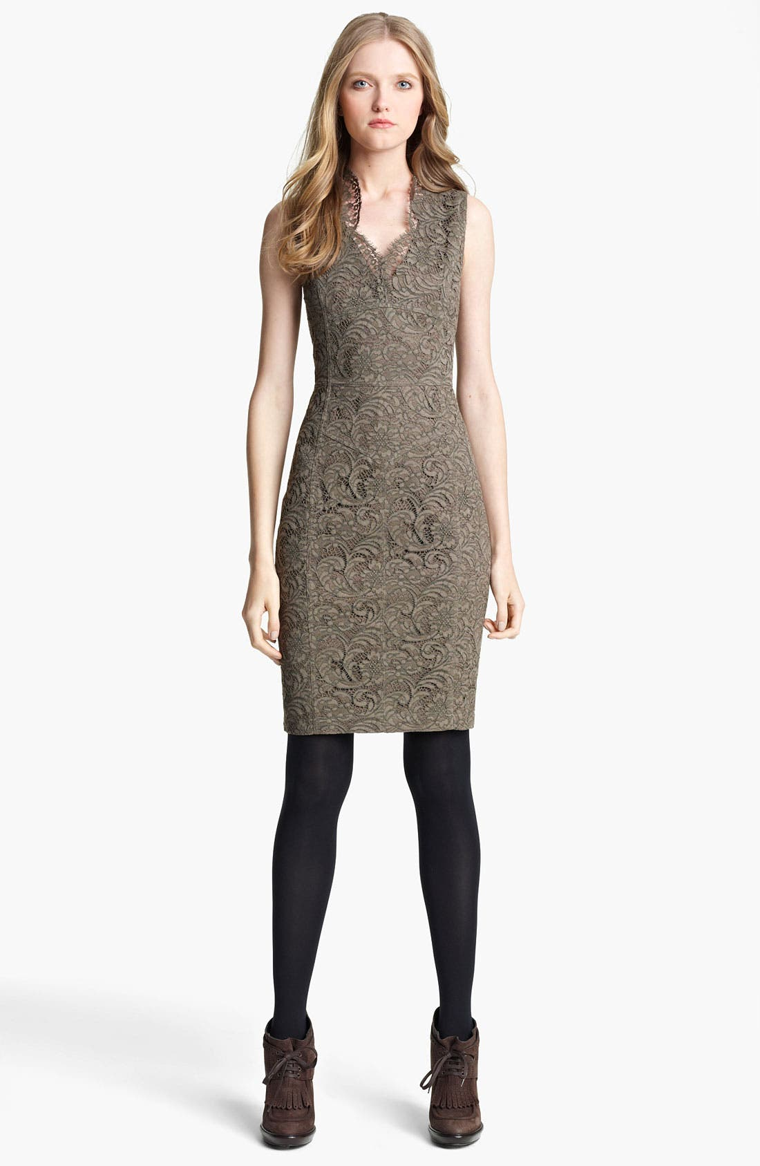 Alternate Image 1 Selected - Burberry London Lace Dress